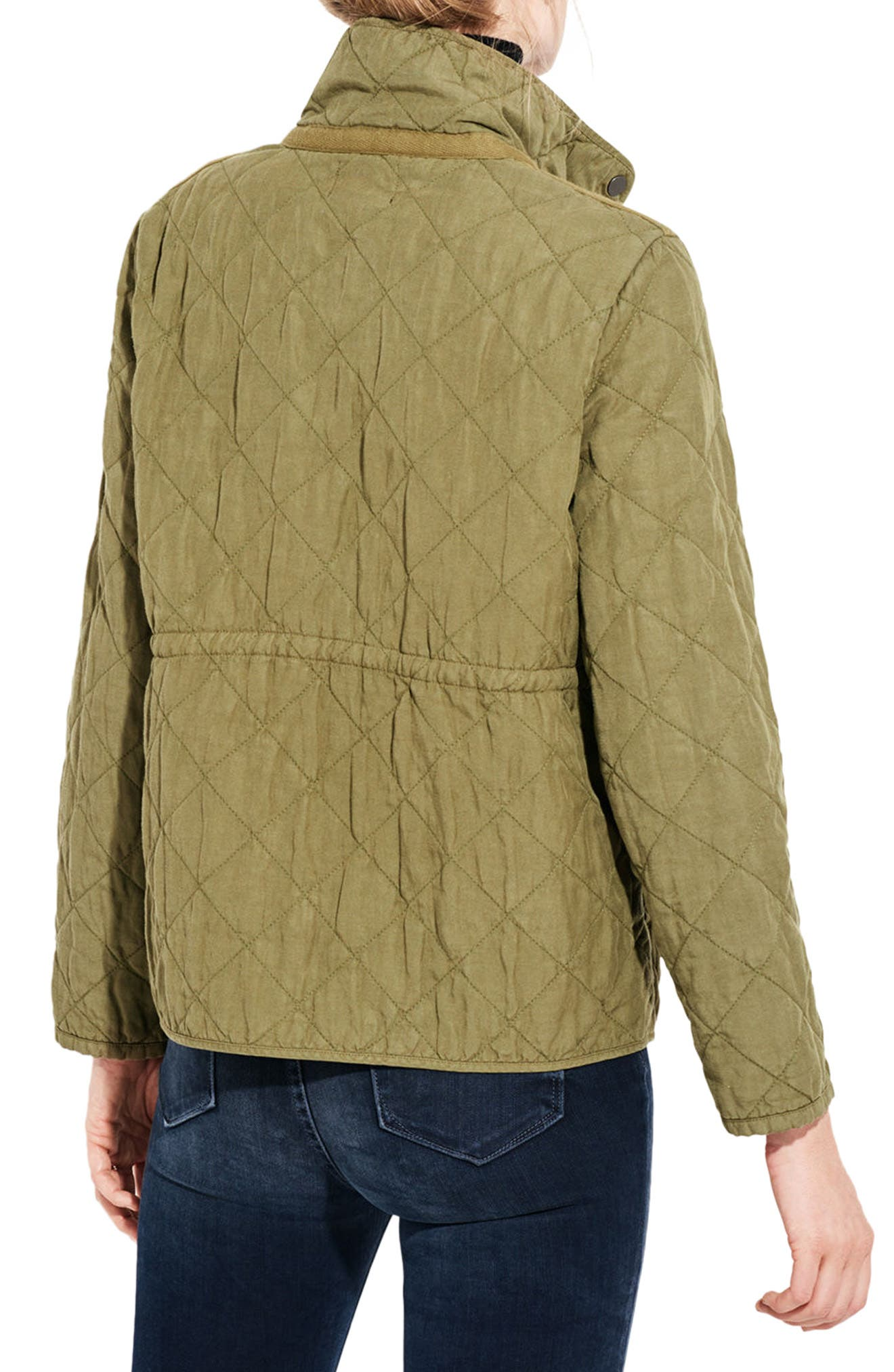 The Blast Quilted Jacket,                             Alternate thumbnail 2, color,                             Cargo Green