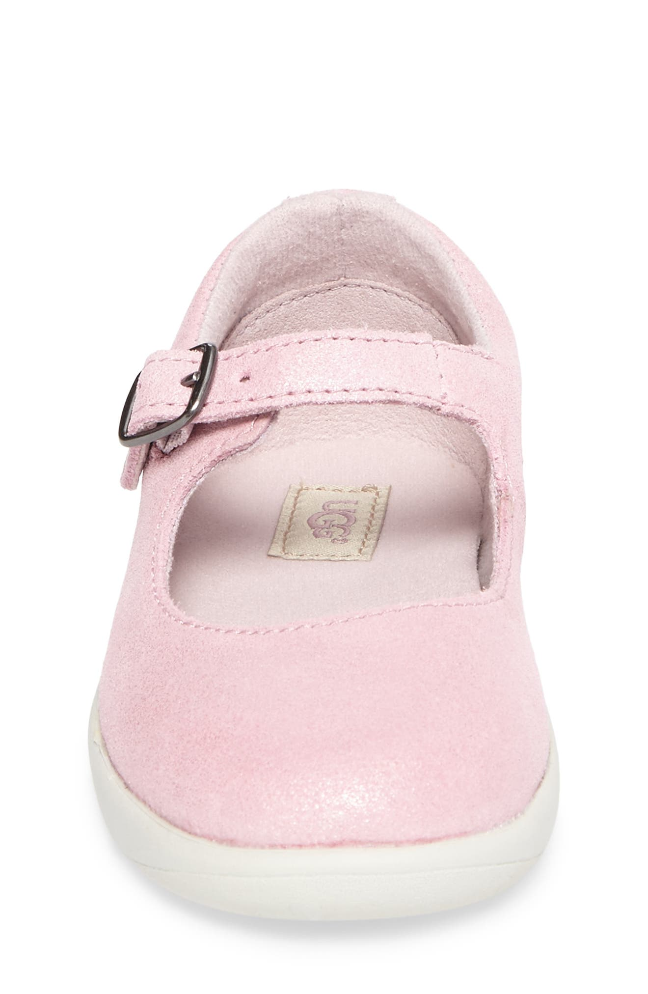 Alternate Image 4  - UGG® Dorothea Metallic Mary Jane (Walker & Toddler)