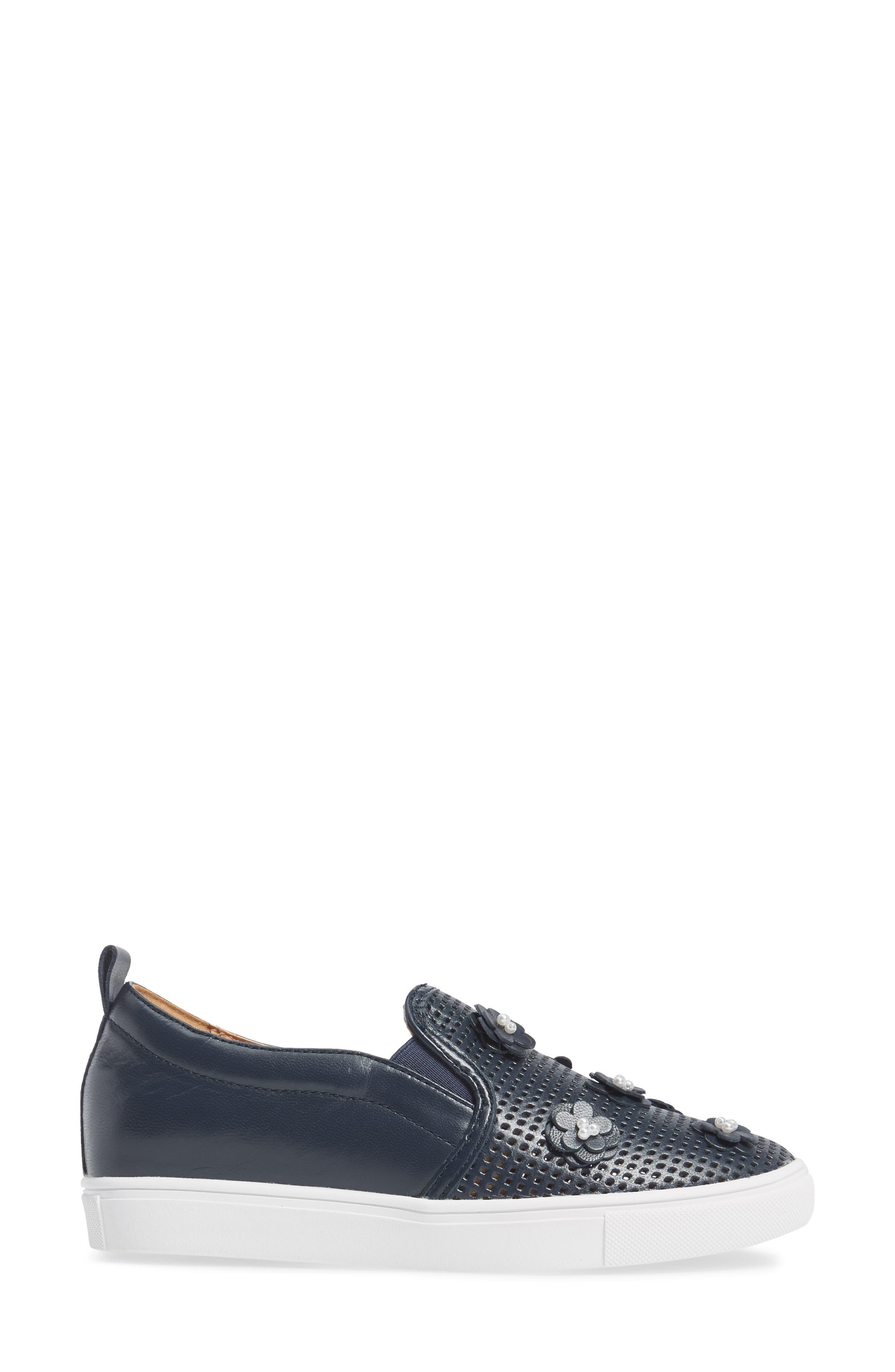 Alternate Image 3  - Caslon® Eden Perforated Slip-On Sneaker (Women)