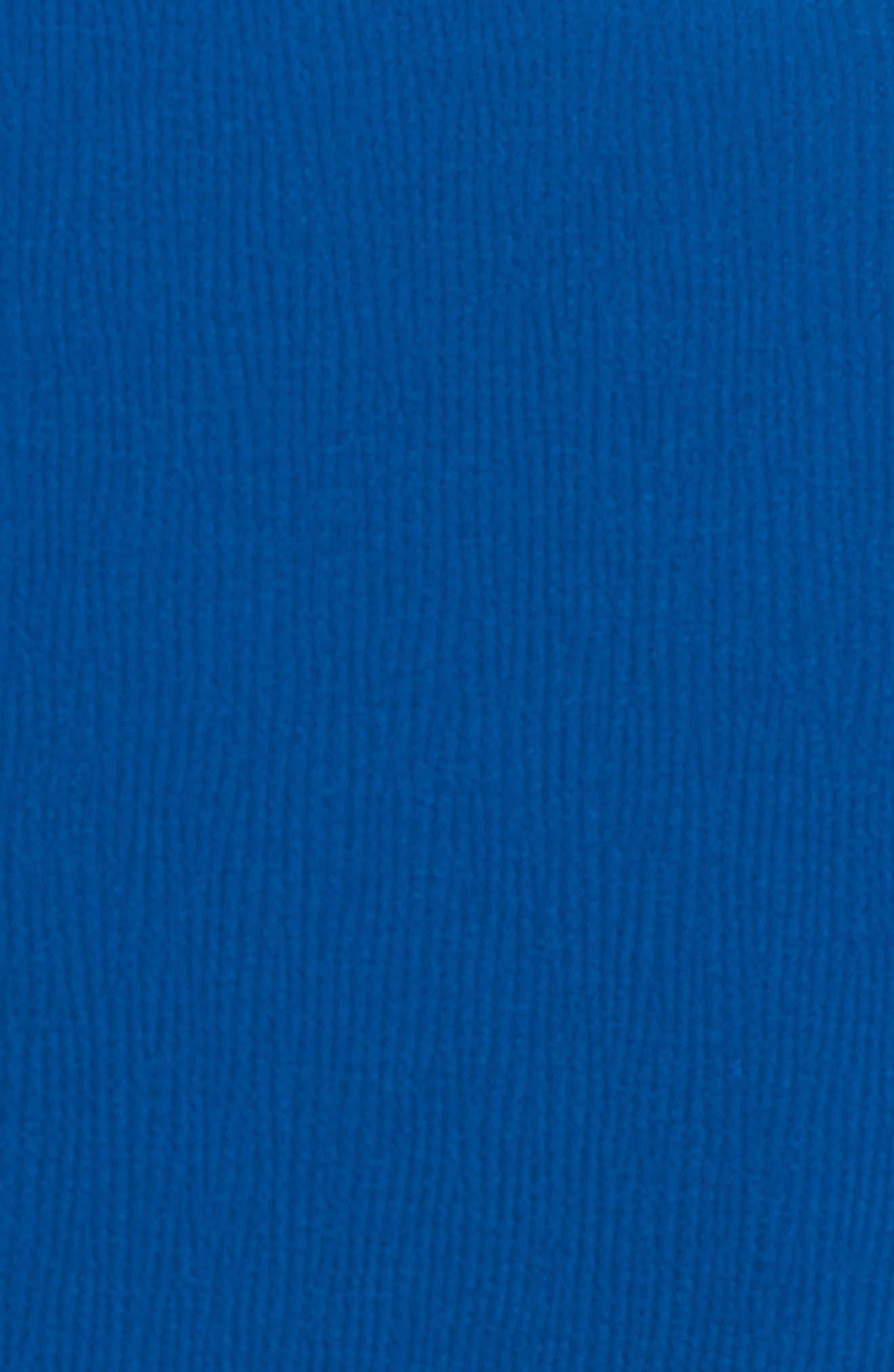 Jerusa Crop Suit Jacket,                             Alternate thumbnail 5, color,                             Gentian Blue