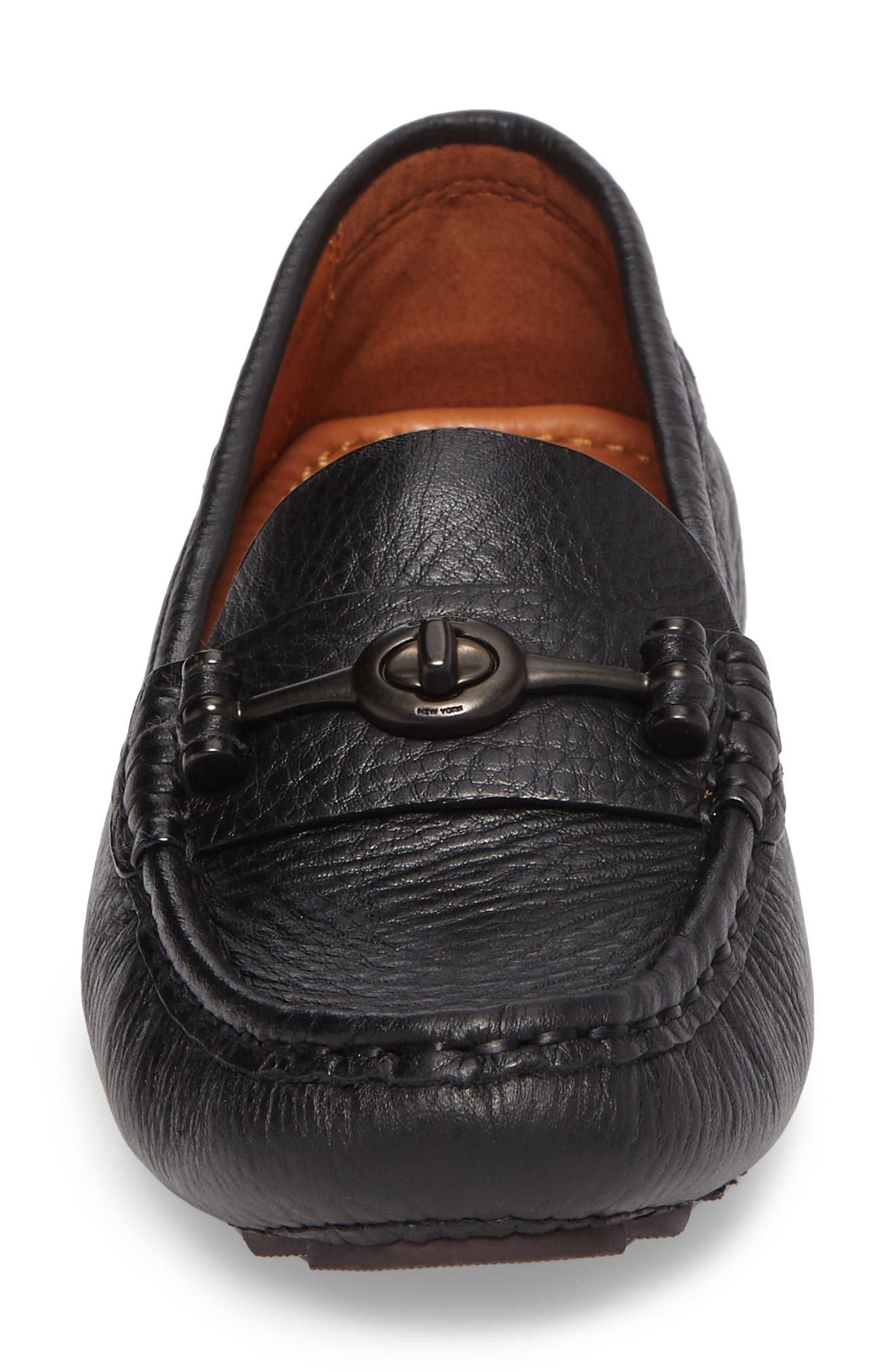 Alternate Image 4  - COACH Crosby Driver Loafer (Women)