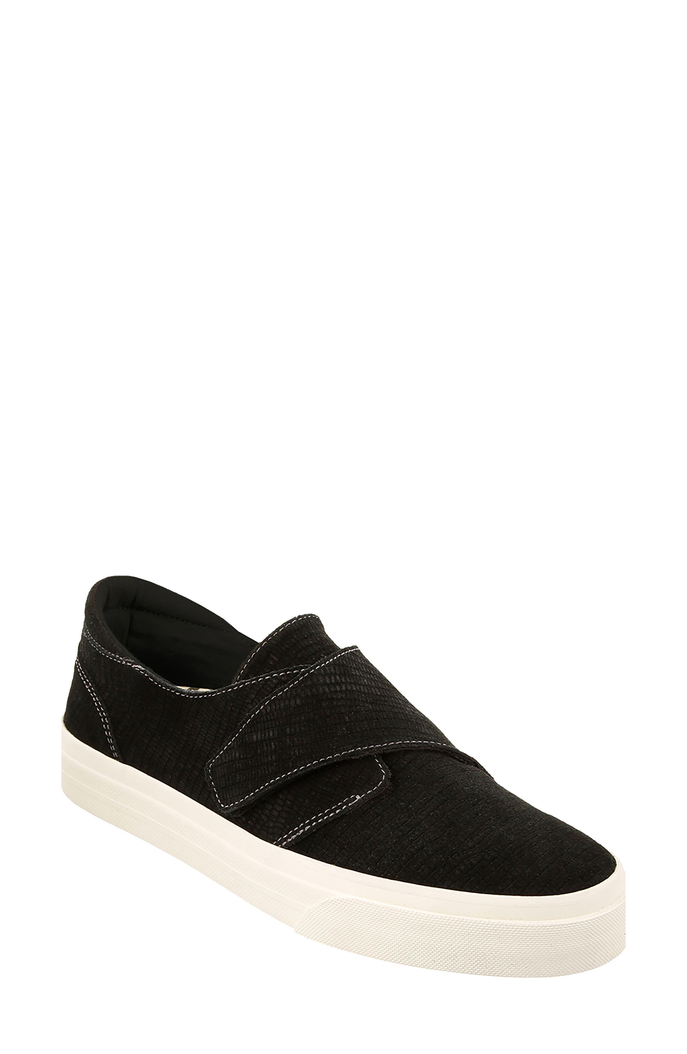 Soul Sneaker,                         Main,                         color, Black Emboss Suede
