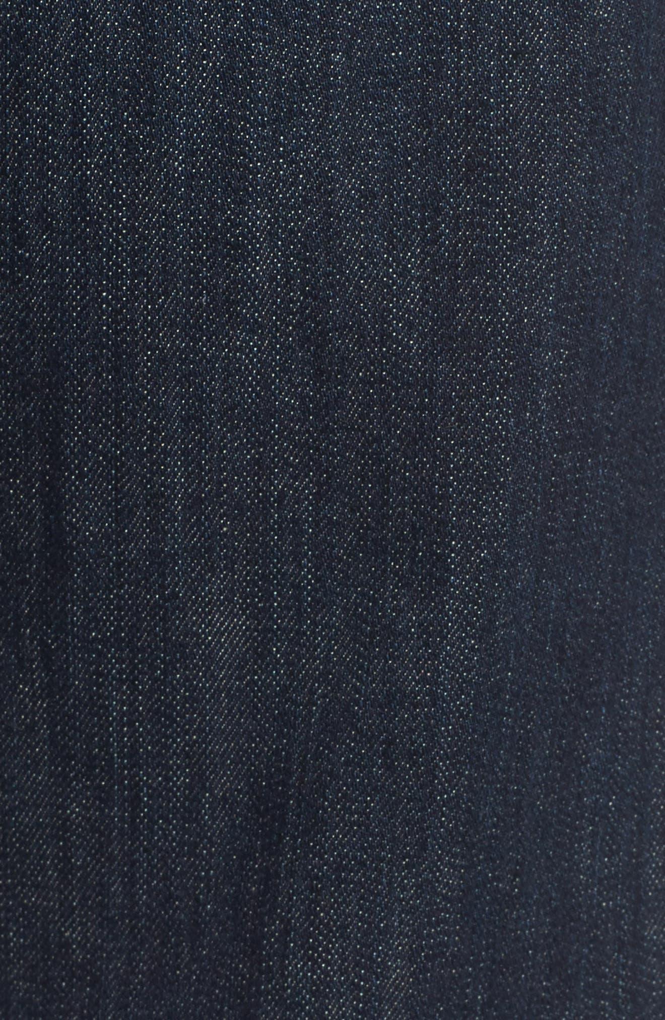 'Protégé' Straight Leg Jeans,                             Alternate thumbnail 5, color,                             Blake