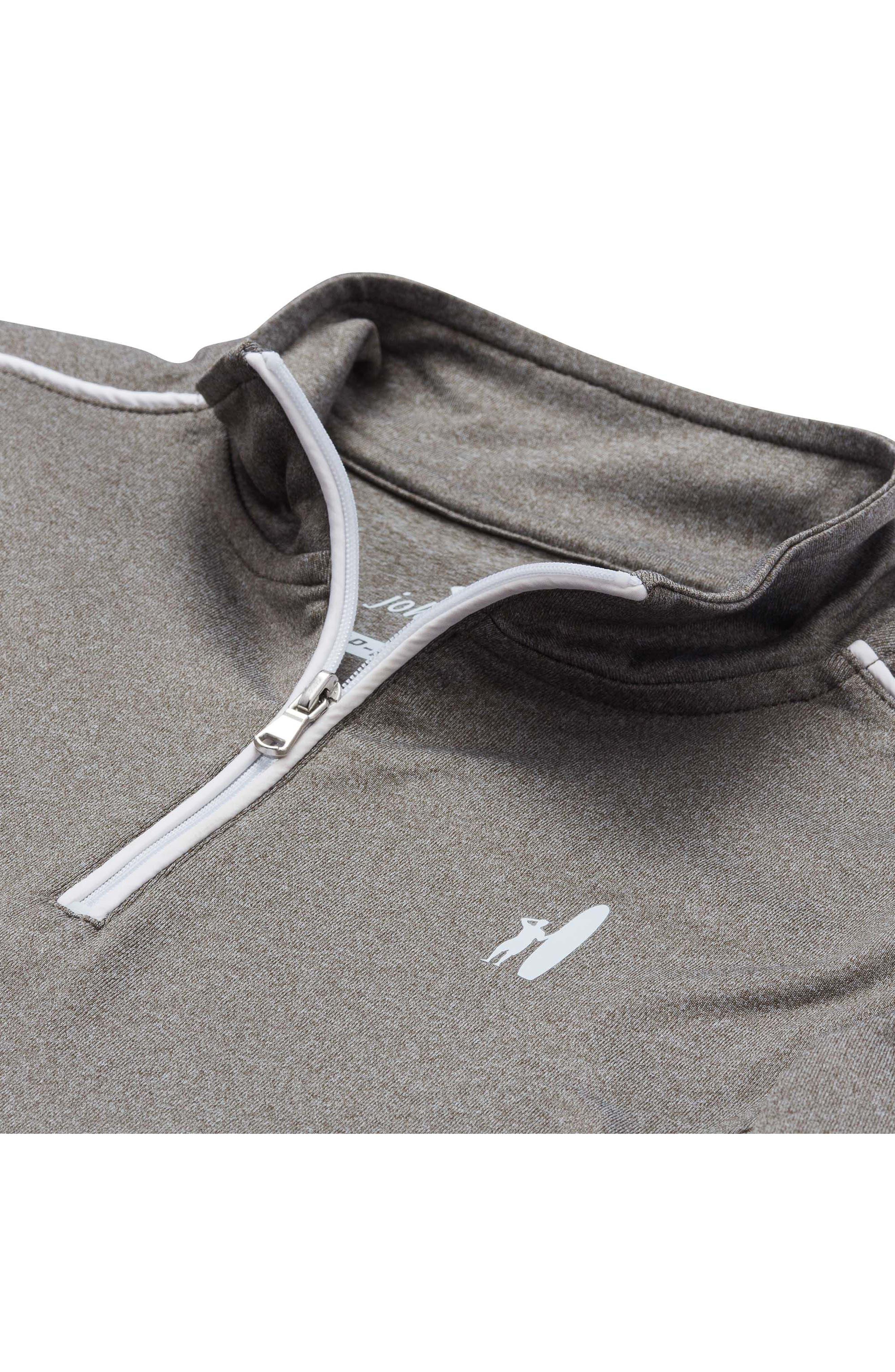 Lammie Quarter Zip Pullover,                             Alternate thumbnail 2, color,                             Meteor