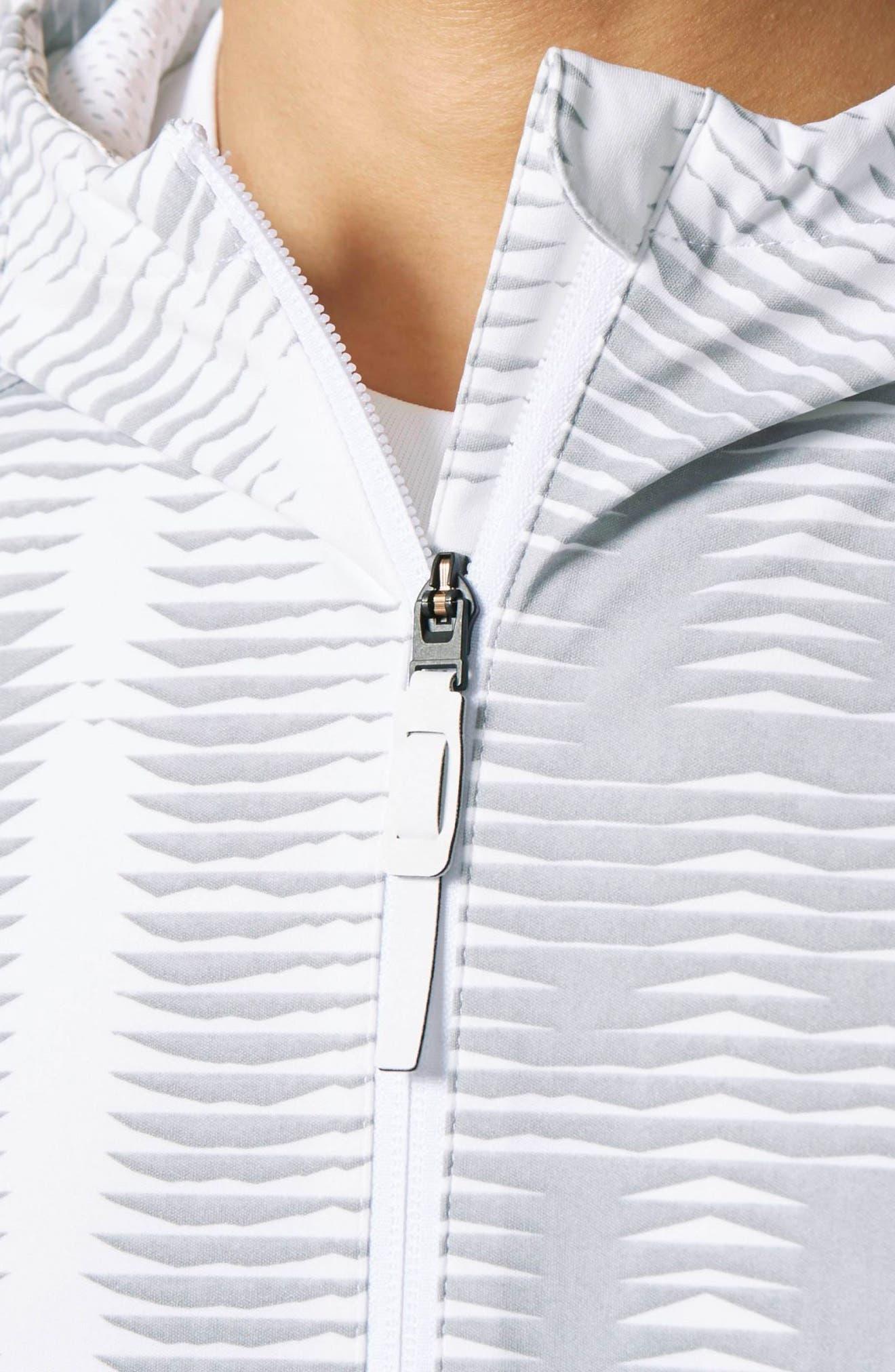 Alternate Image 3  - adidas Woven Windbreaker