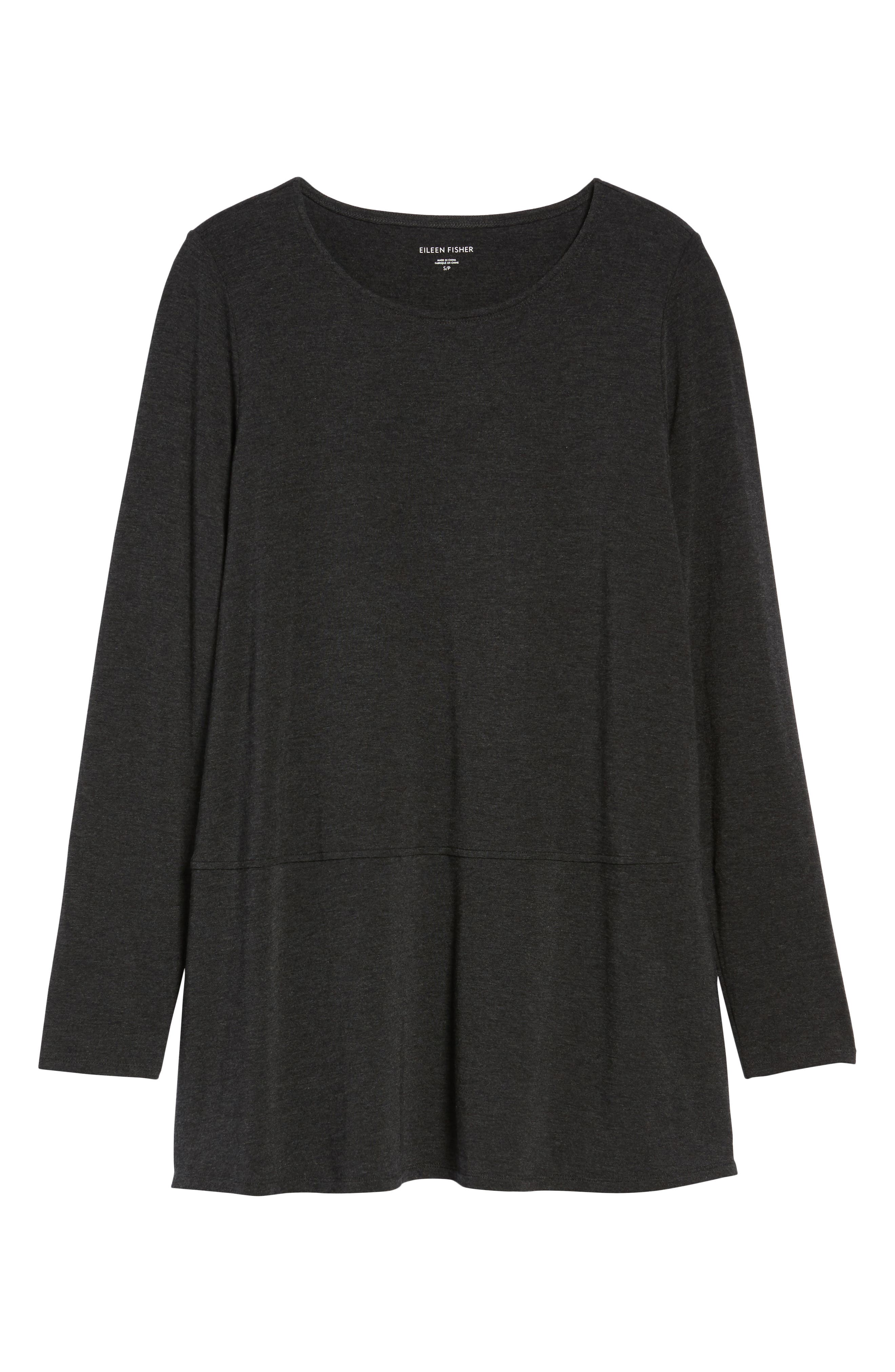 Alternate Image 6  - Eileen Fisher Stretch Tencel® Top