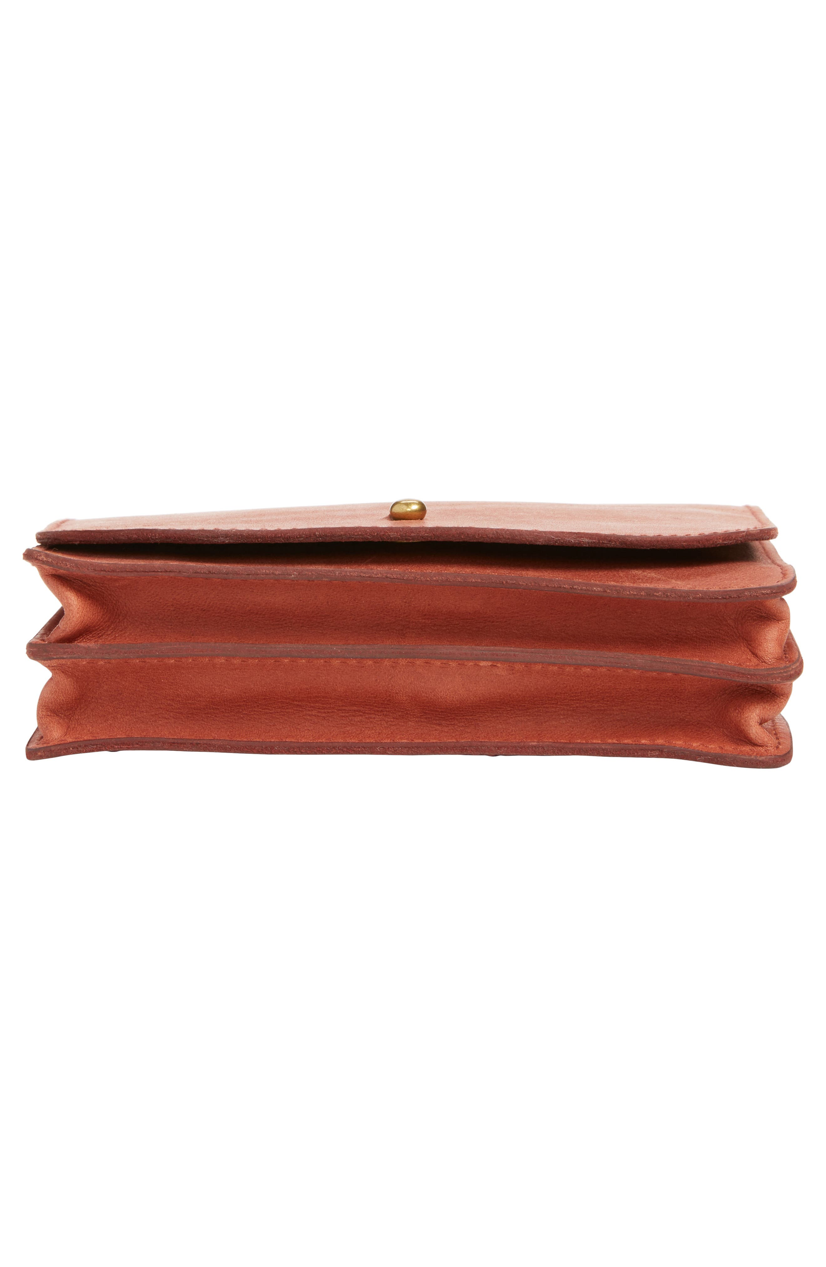 Alternate Image 6  - Madewell Leather Crossbody Wallet