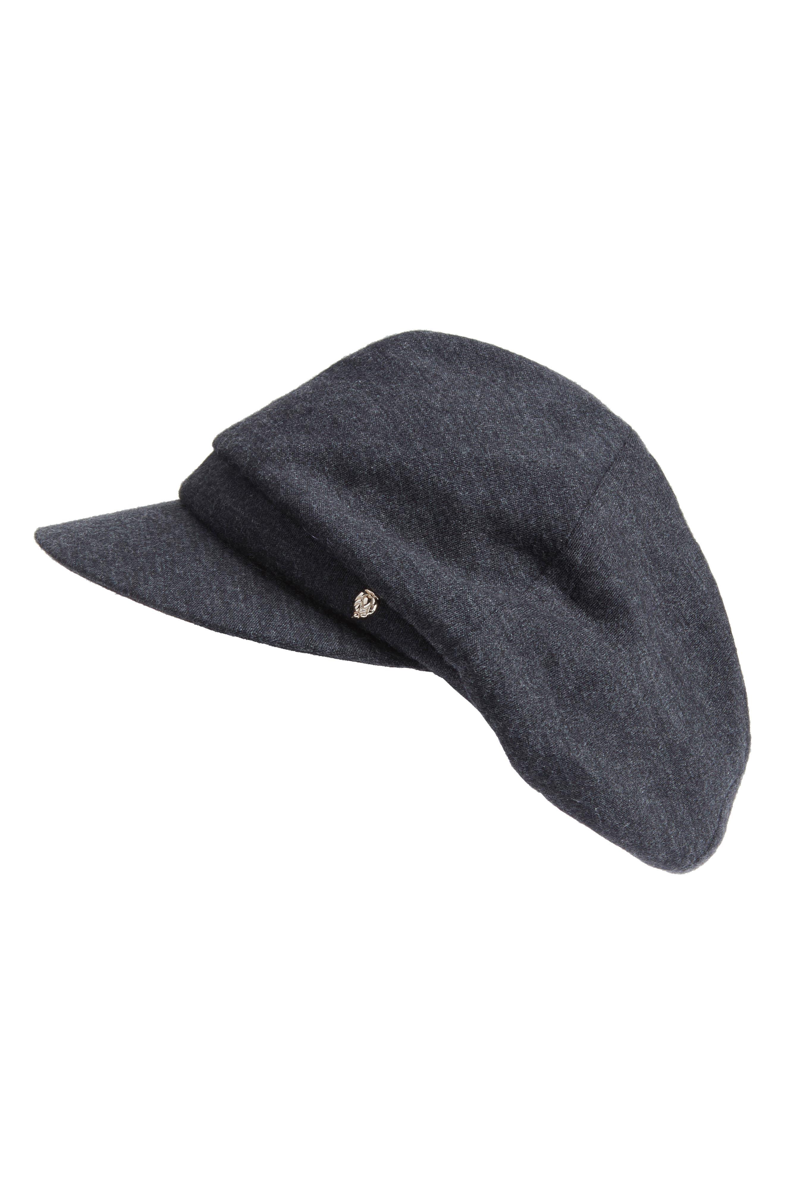 Helen Kaminski Merino Wool Baker Boy Cap