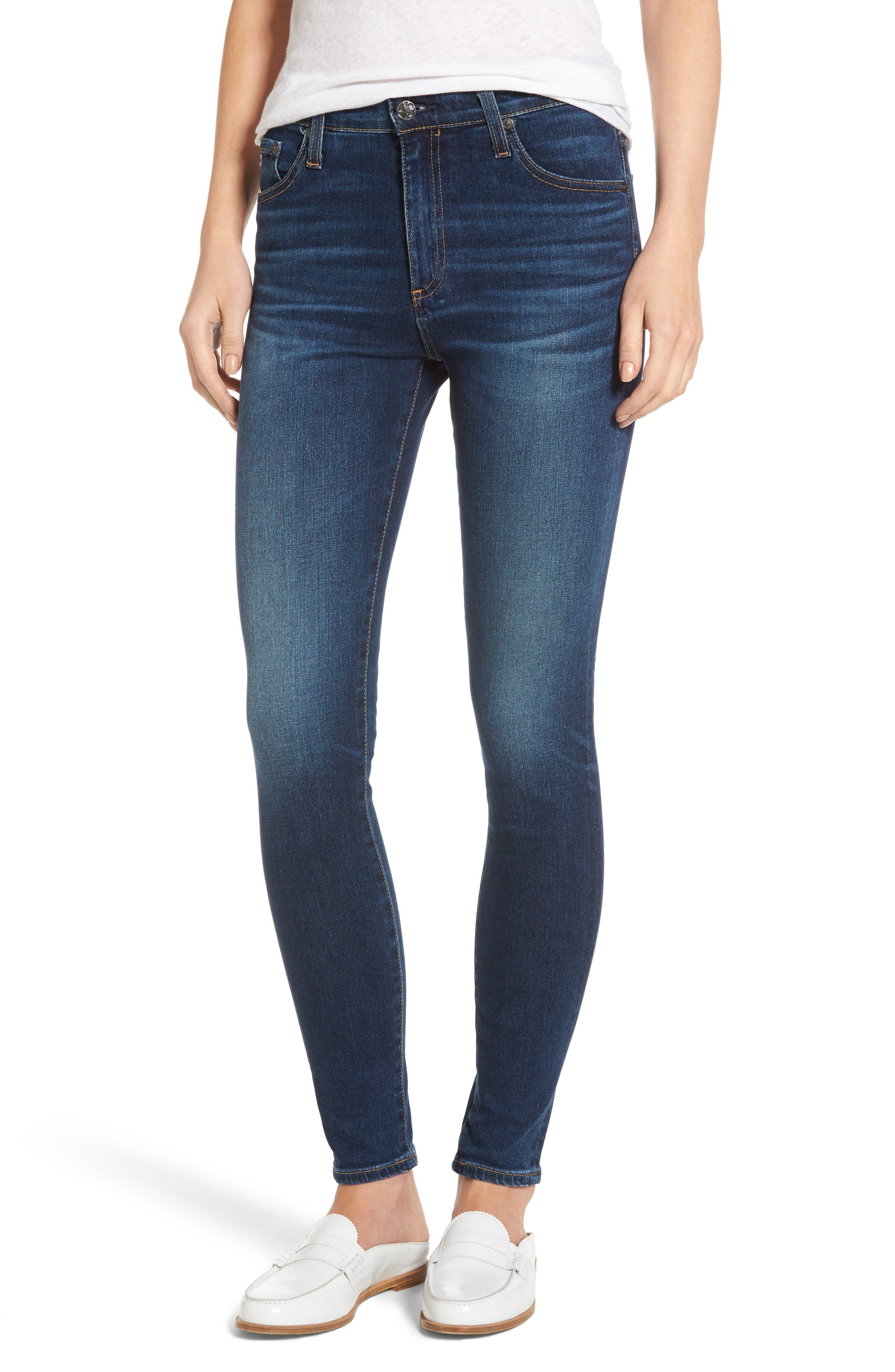 AG The Farrah Ankle Skinny Jeans (4 Years Rapid)