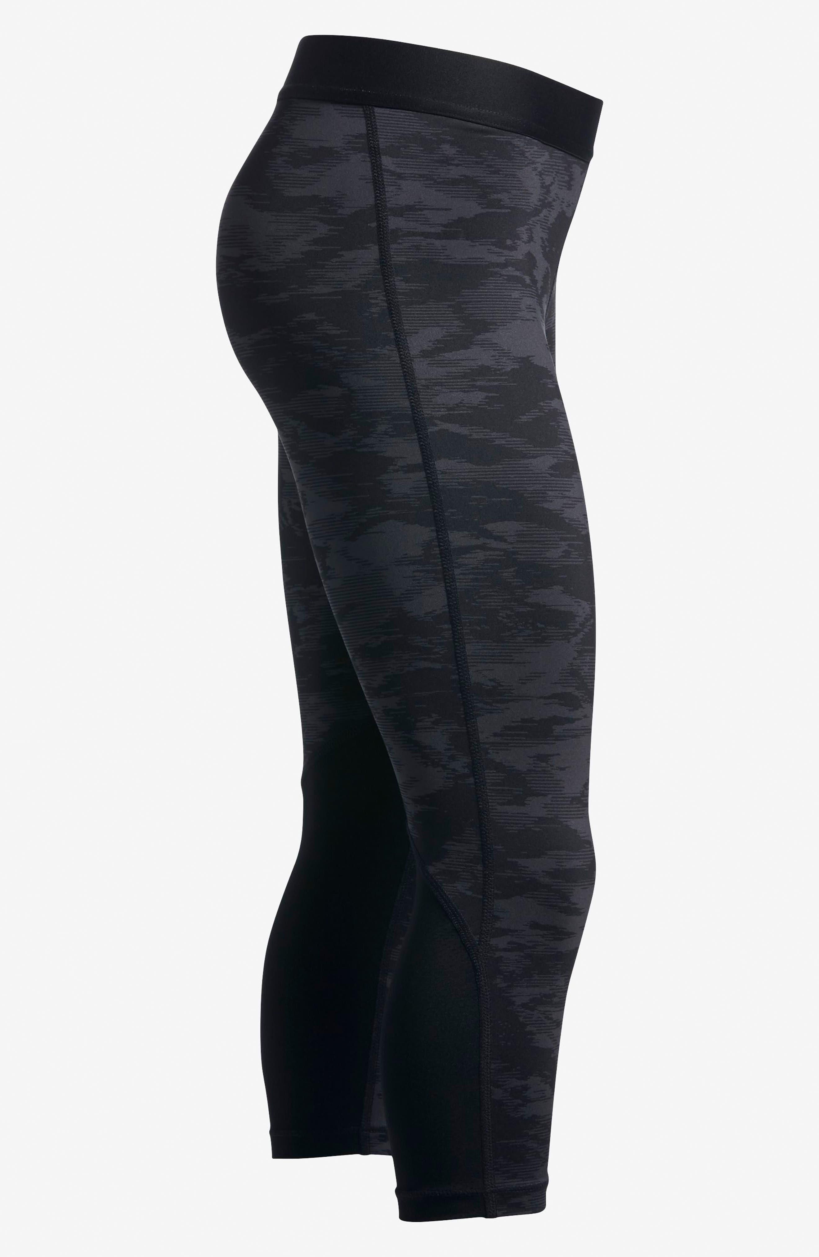 Alternate Image 4  - Nike Pro Cool Crop Leggings (Big Girls)