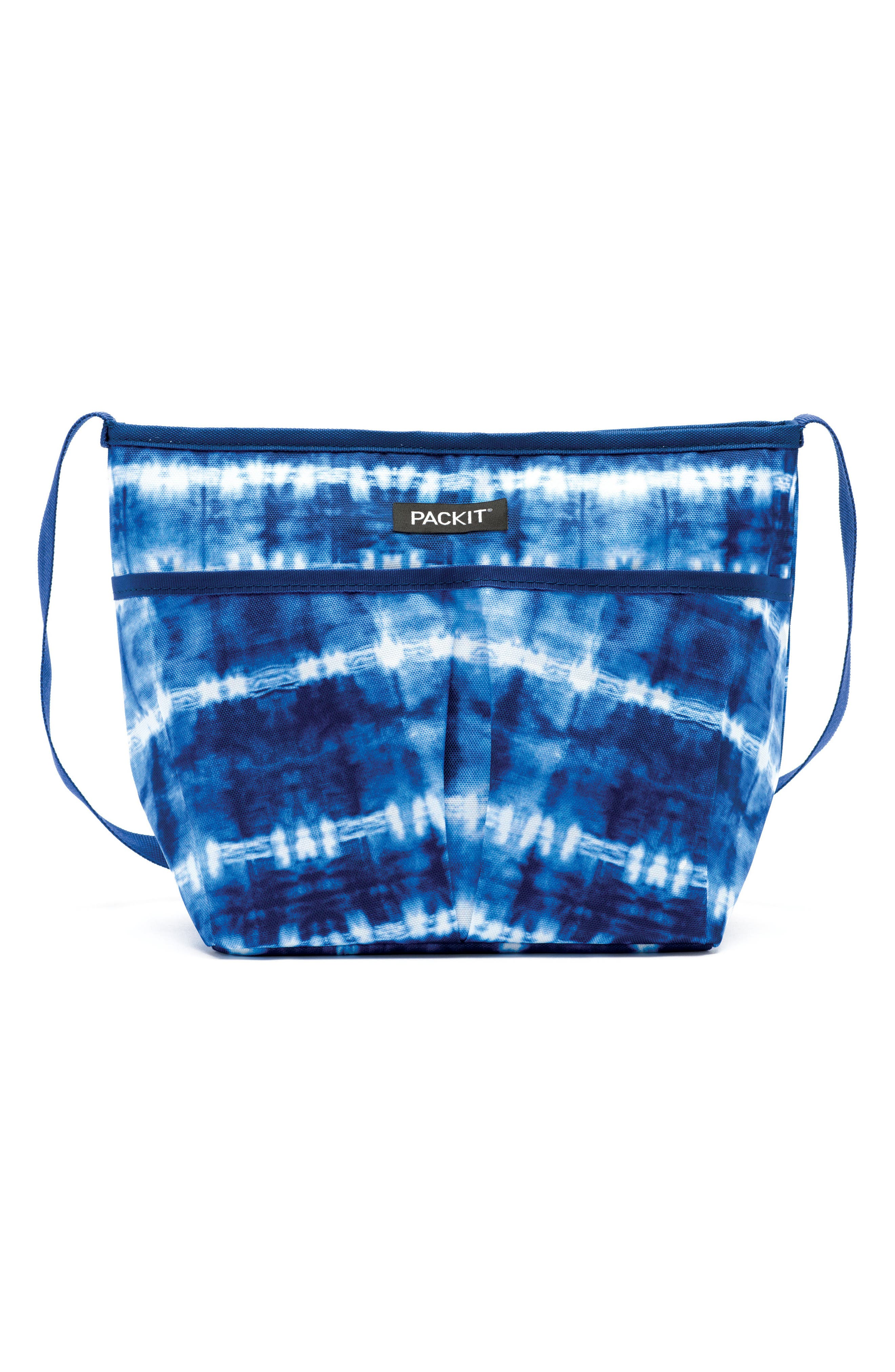 Freezable Carryall Lunch Bag,                         Main,                         color, Tie Dye