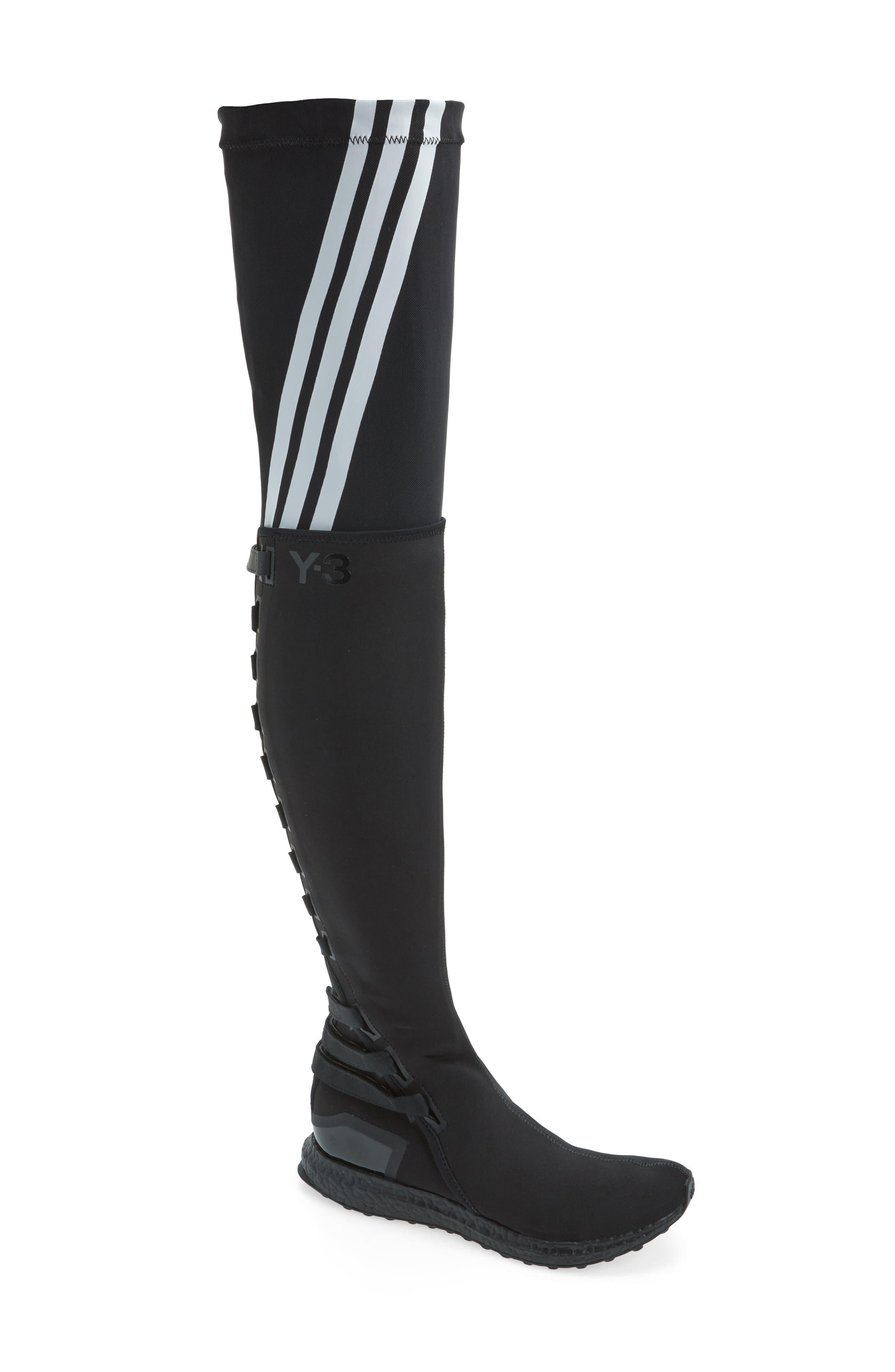 Y-3 Zazu Over the Knee Sneaker Boot (Women)