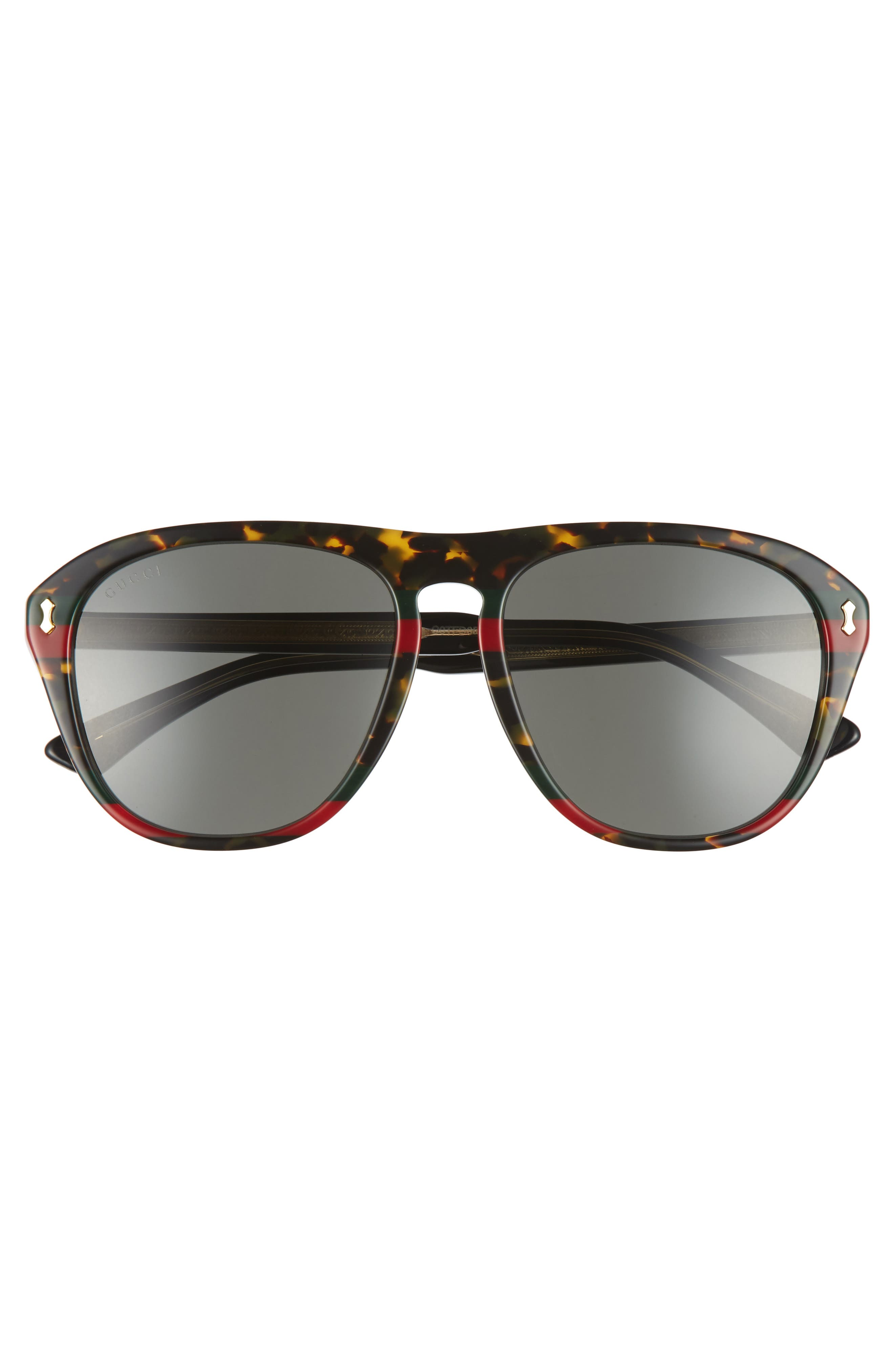 Alternate Image 2  - Gucci 56mm Sunglasses