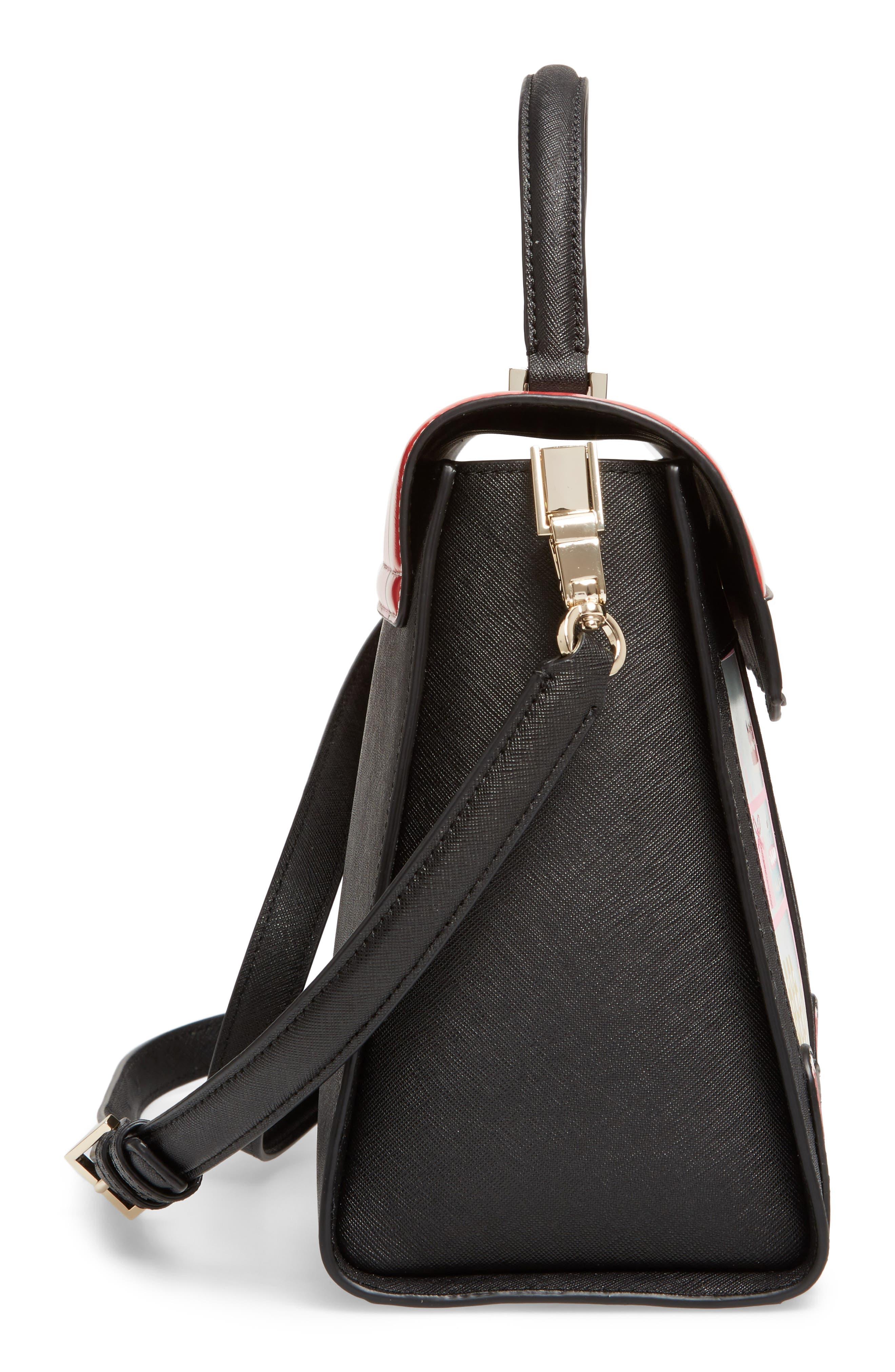 Alternate Image 5  - kate spade new york ma cherie - café leather satchel