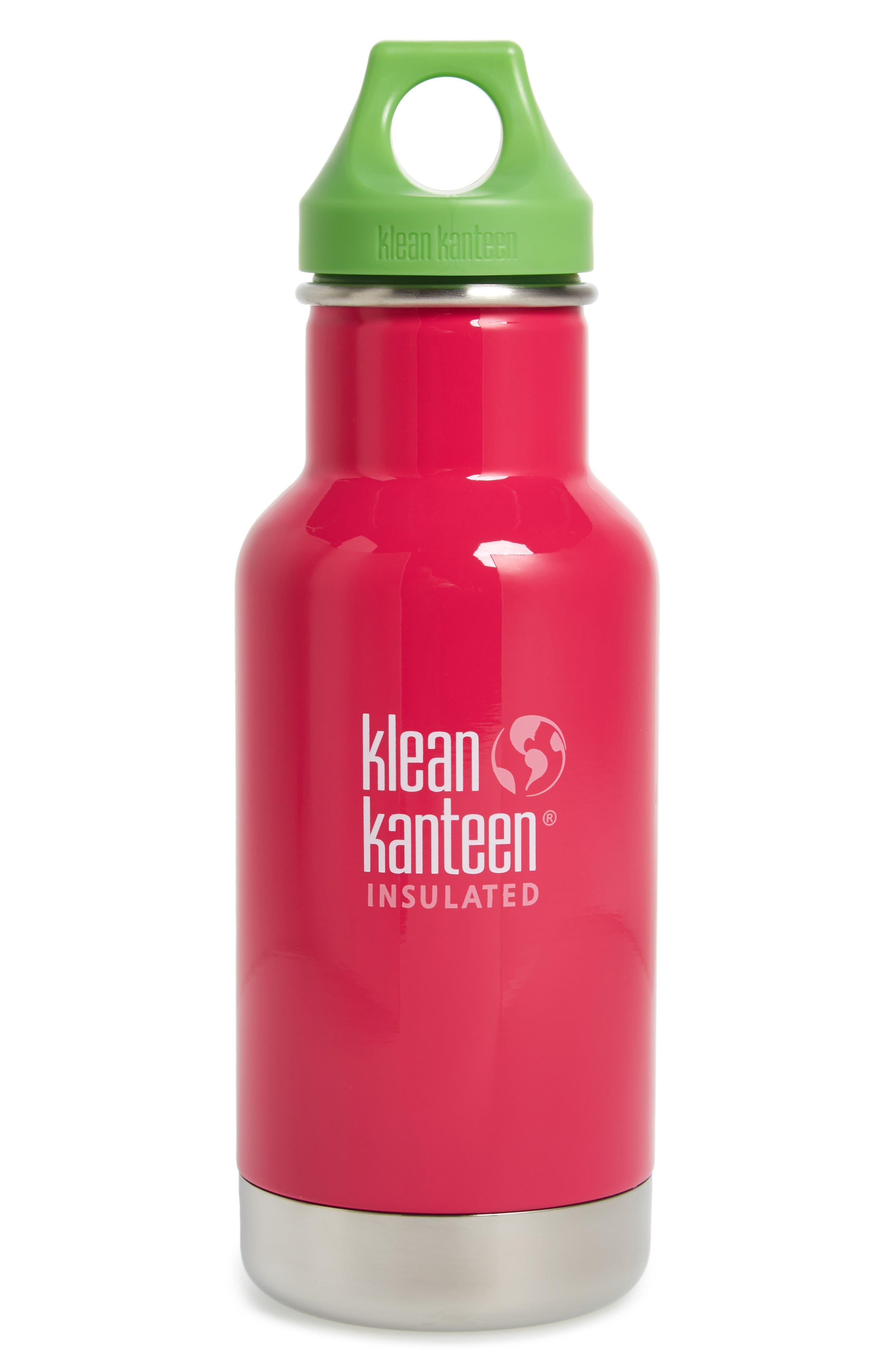 Alternate Image 1 Selected - Klean Kanteen Kid Kanteen Vacuum Insulated Bottle (12 oz.)