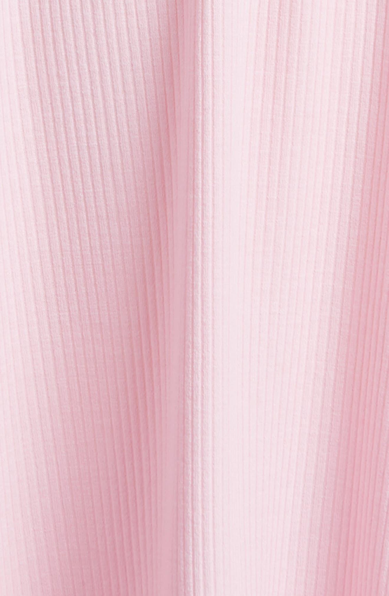 Ringer Tank Dress,                             Alternate thumbnail 3, color,                             Cameo Pink
