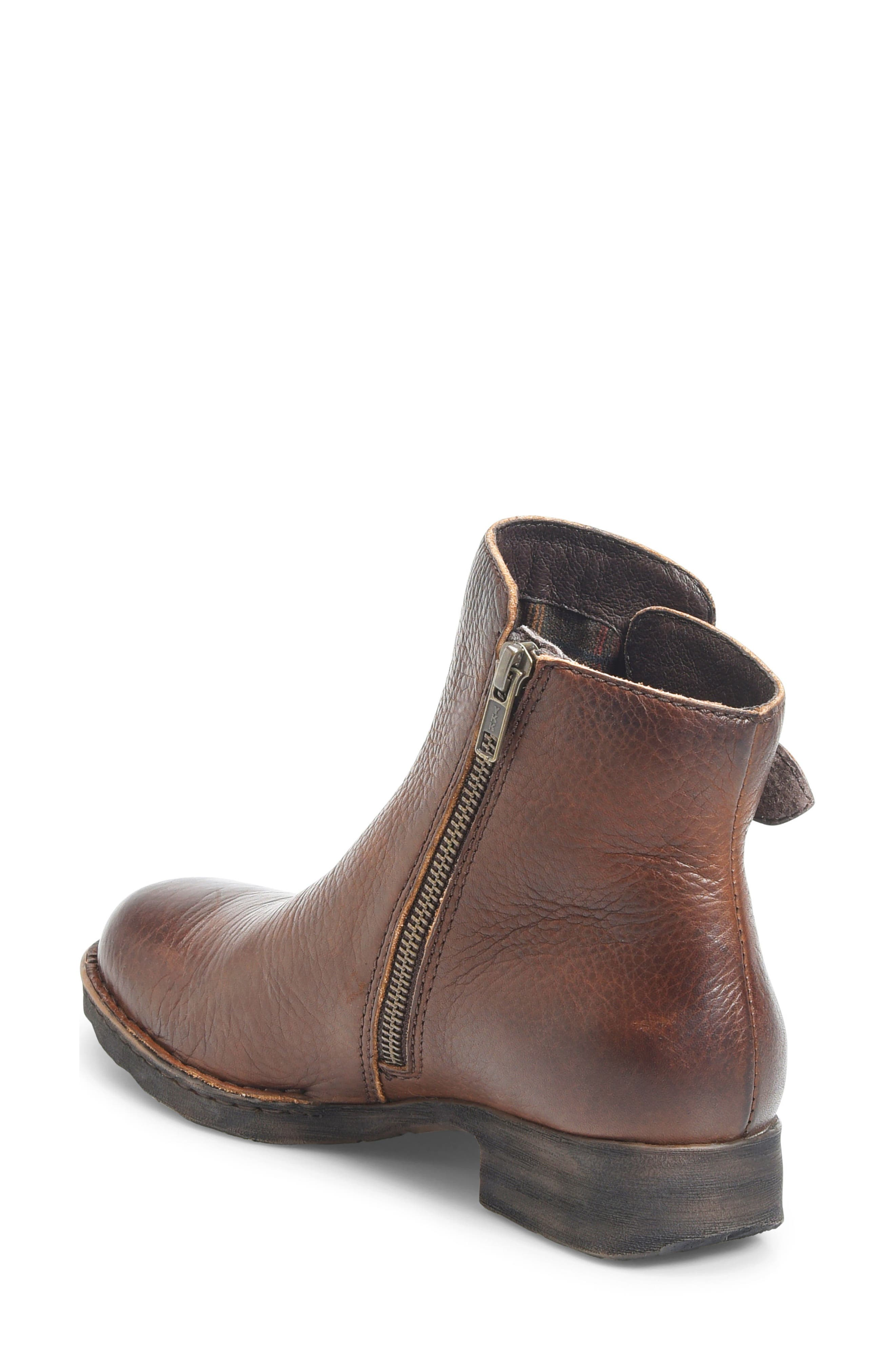 Carbine Bootie,                             Alternate thumbnail 2, color,                             Brown Leather