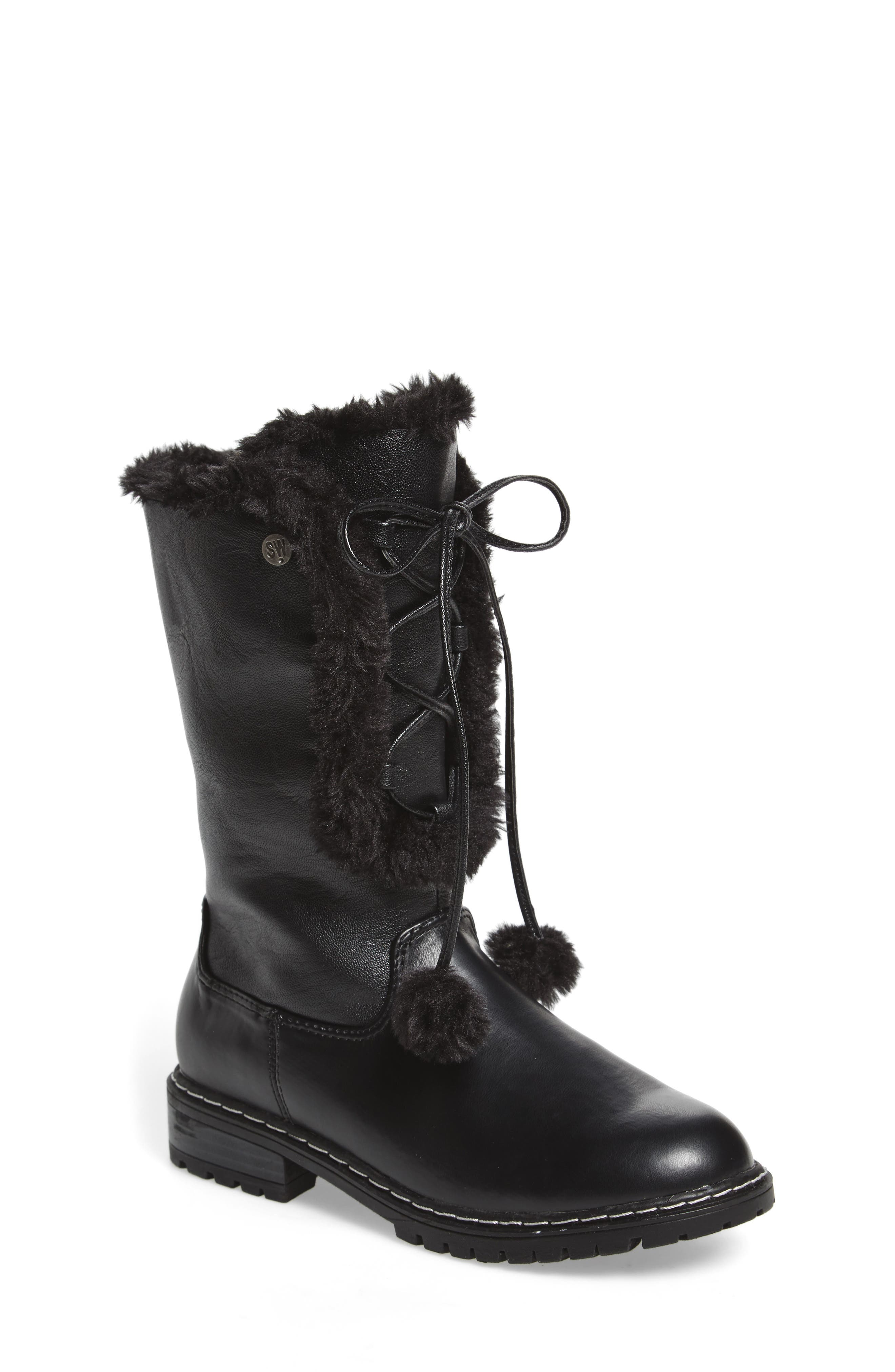 Stuart Weitzman Luge Heidi Boot (Toddler, Little Kid & Big Kid)