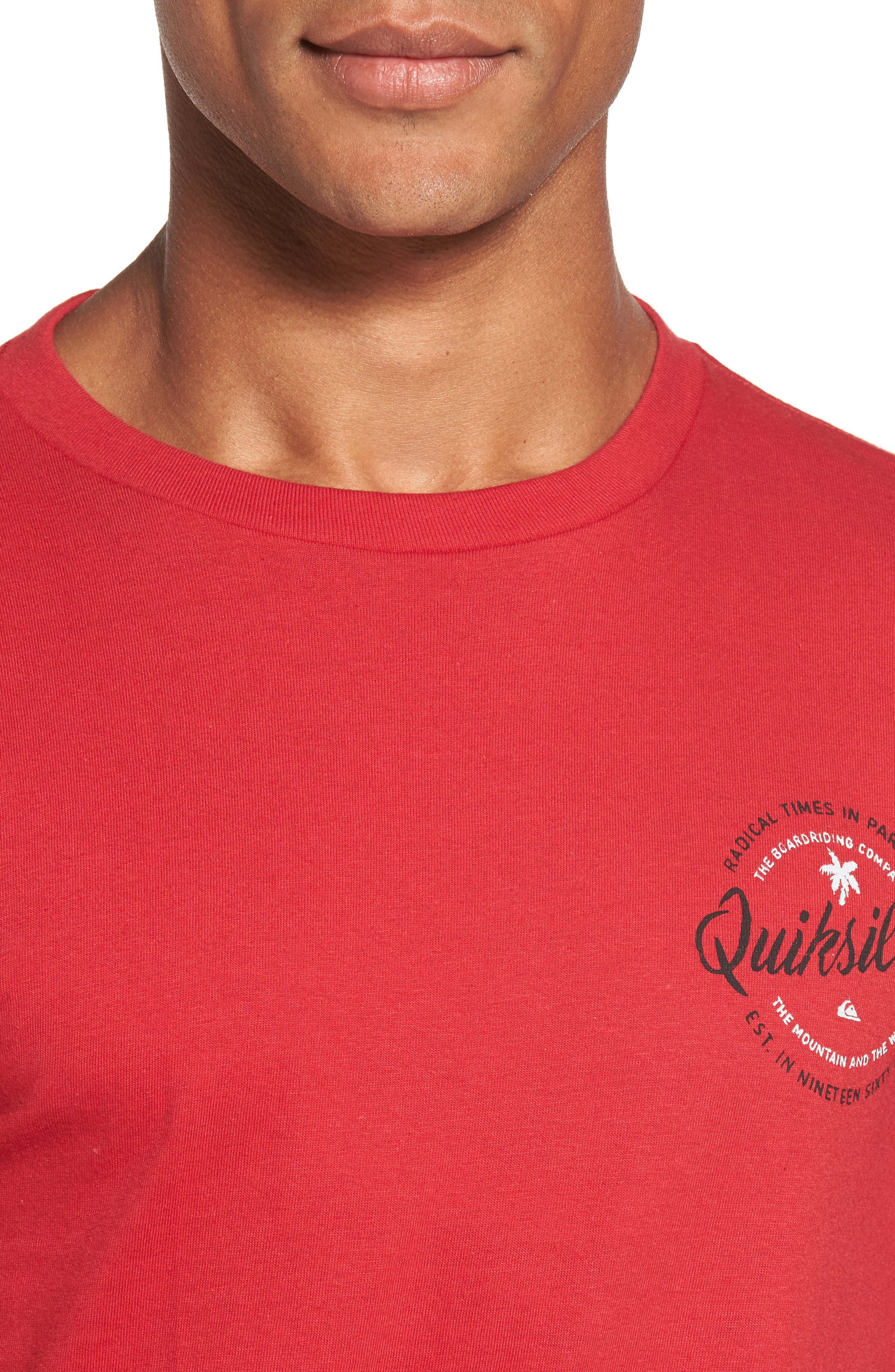Alternate Image 4  - Quiksilver Holding Dreams MT0 T-Shirt