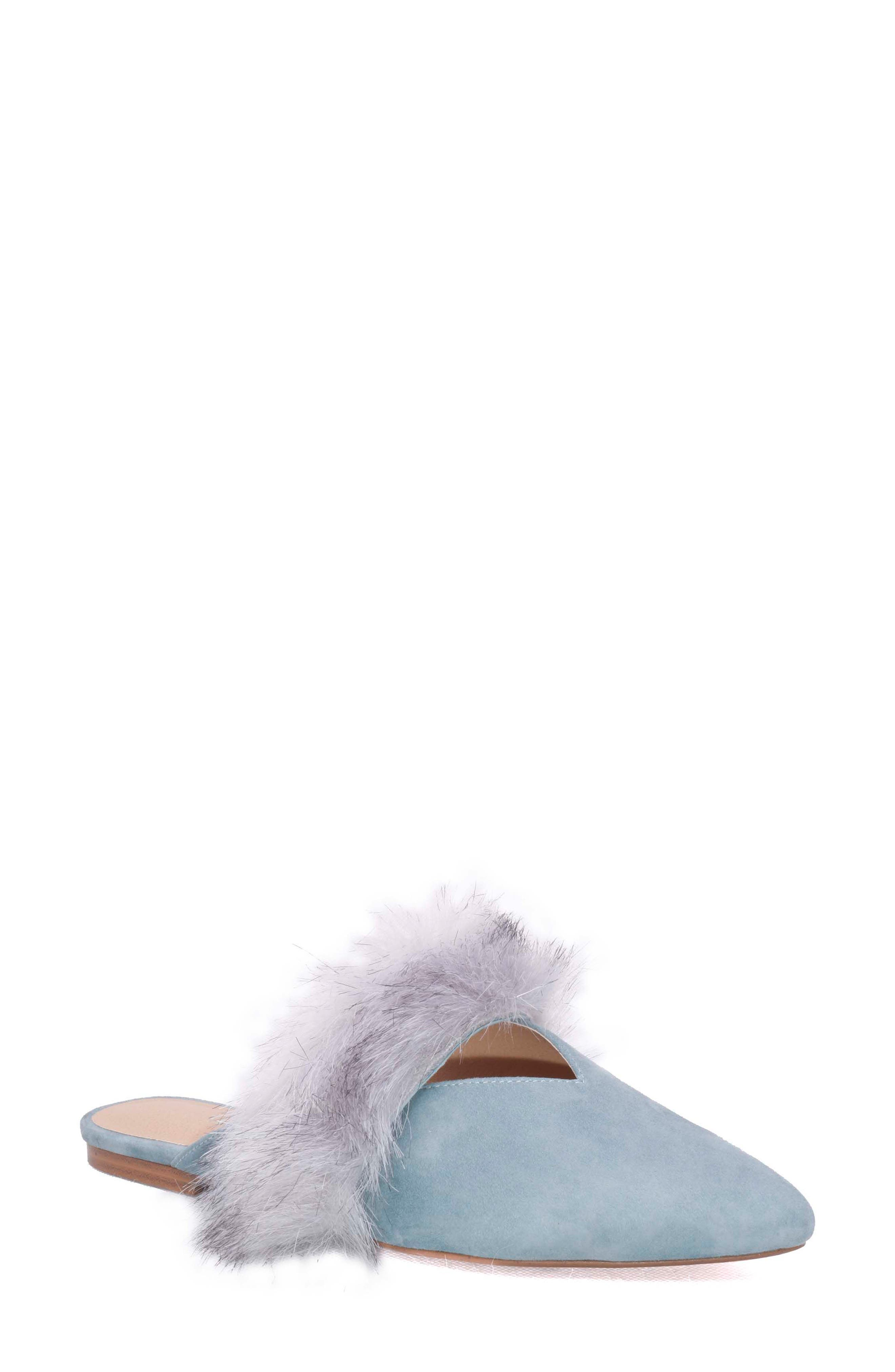 Main Image - Joe's Angelique Faux Fur Mule (Women)