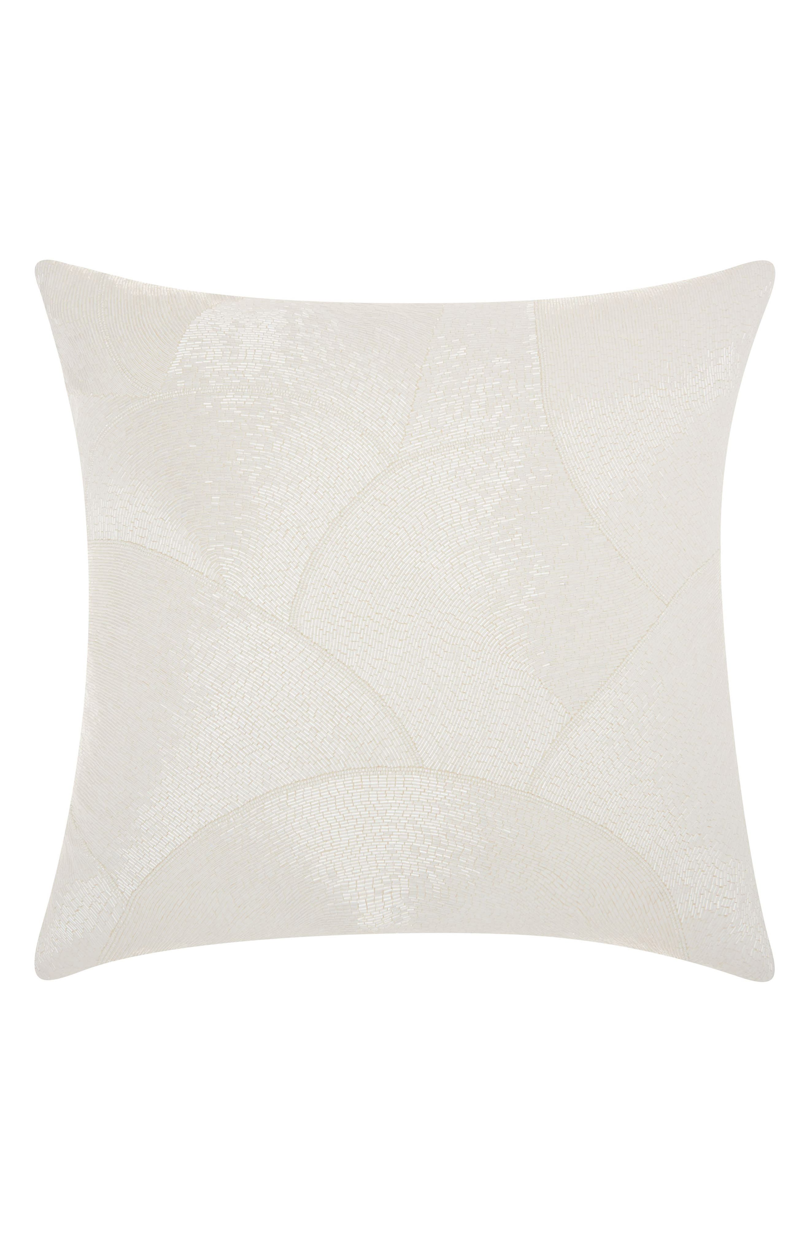 Mina Victory Beaded Fan Pillow