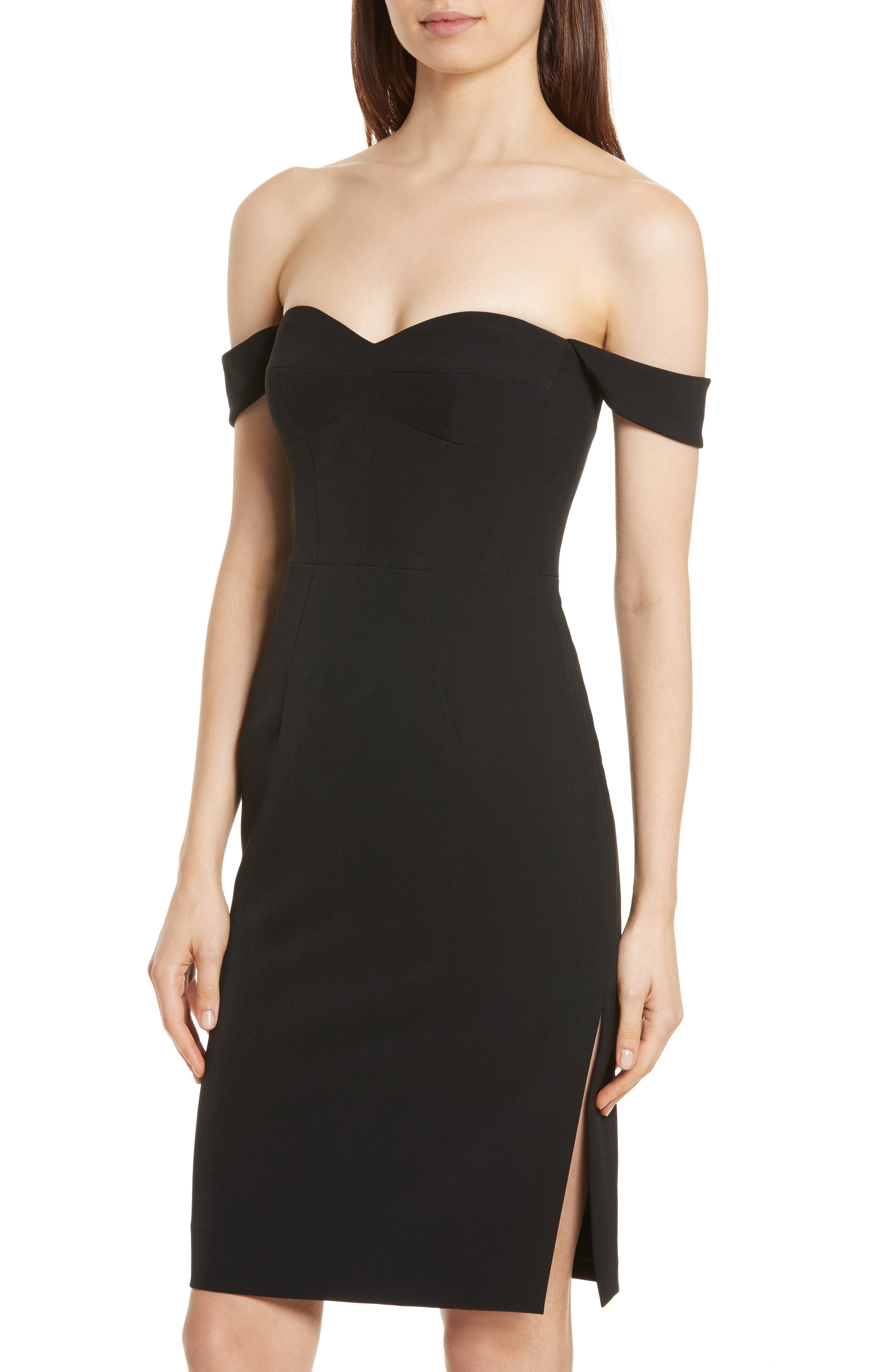 Alternate Image 4  - Milly Karen Italian Cady Off the Shoulder Dress