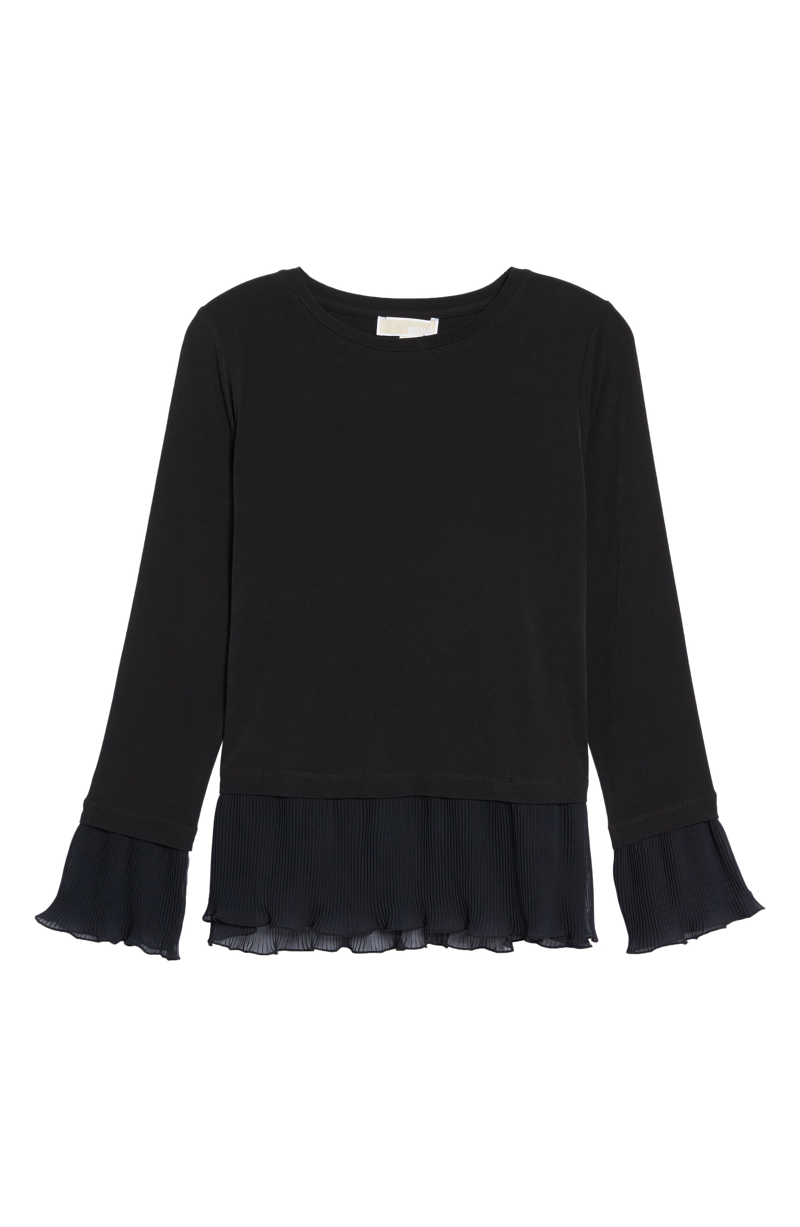 Alternate Image 6  - MICHAEL Michael Kors Ruffle Hem Top