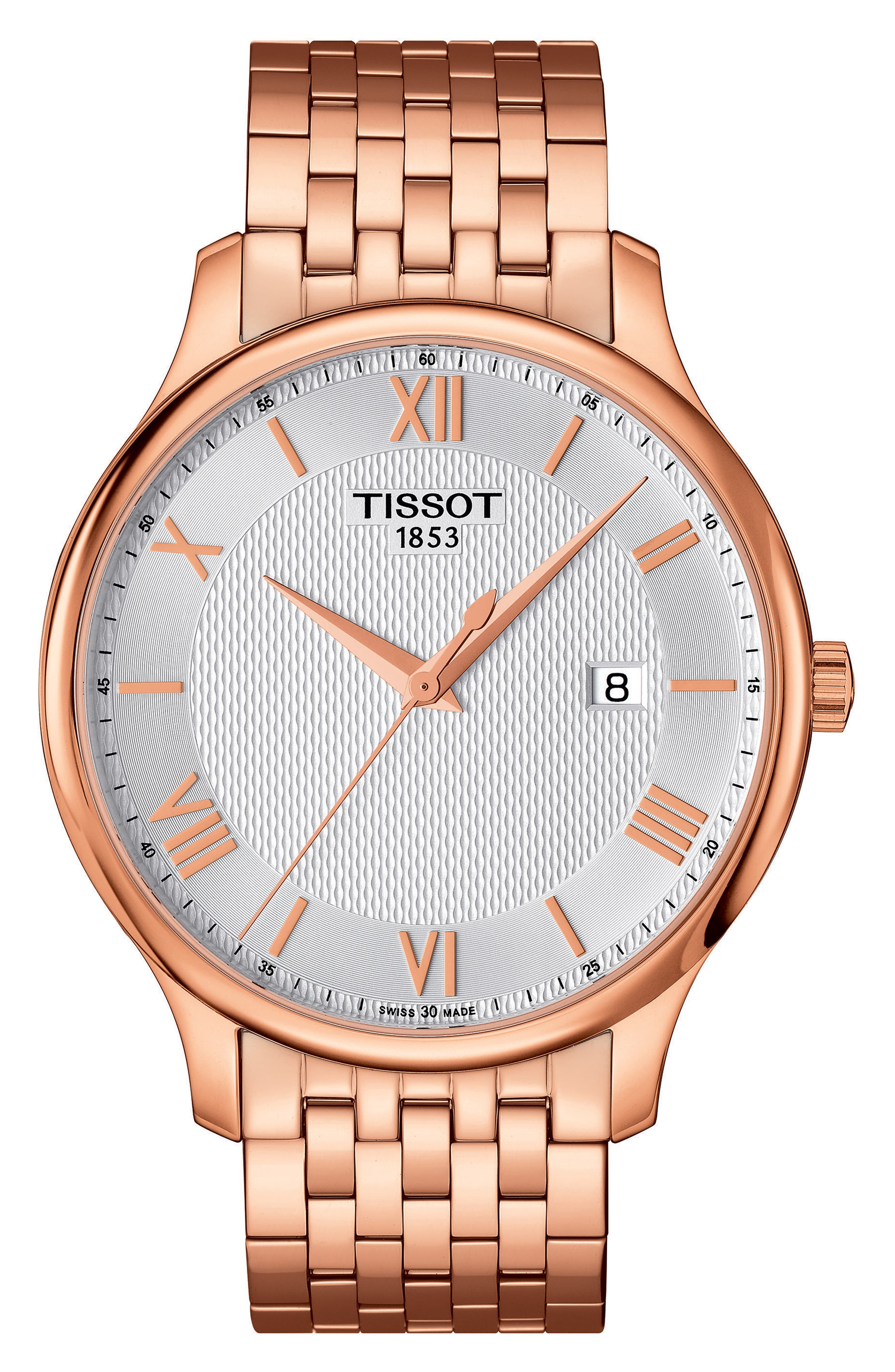 Main Image - Tissot Tradition Bracelet Watch, 42mm