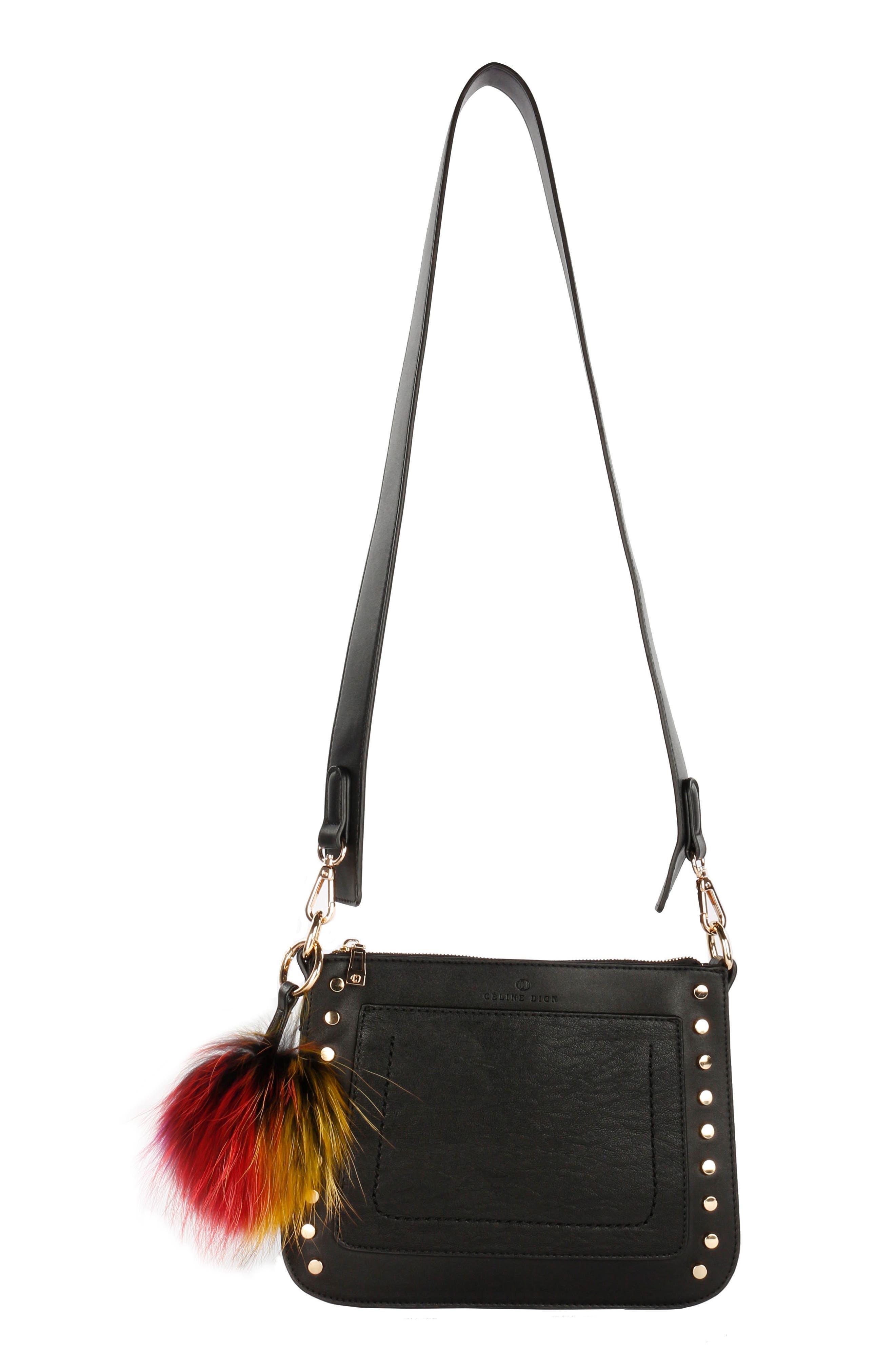Céline Dion Pizzicato Faux Leather Crossbody Bag