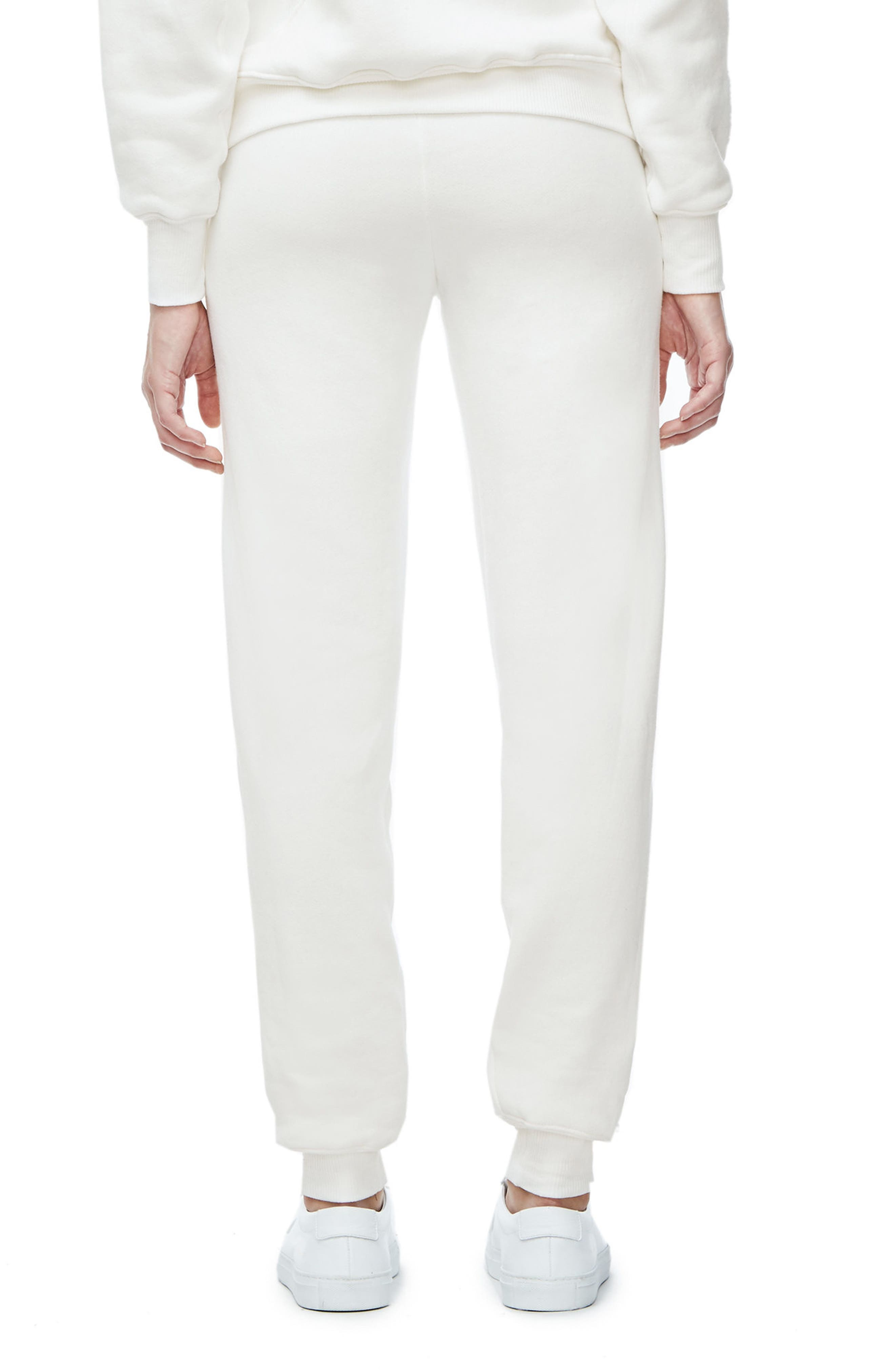 Good Sweats The Twisted Seam Pants,                             Alternate thumbnail 2, color,                             Off White