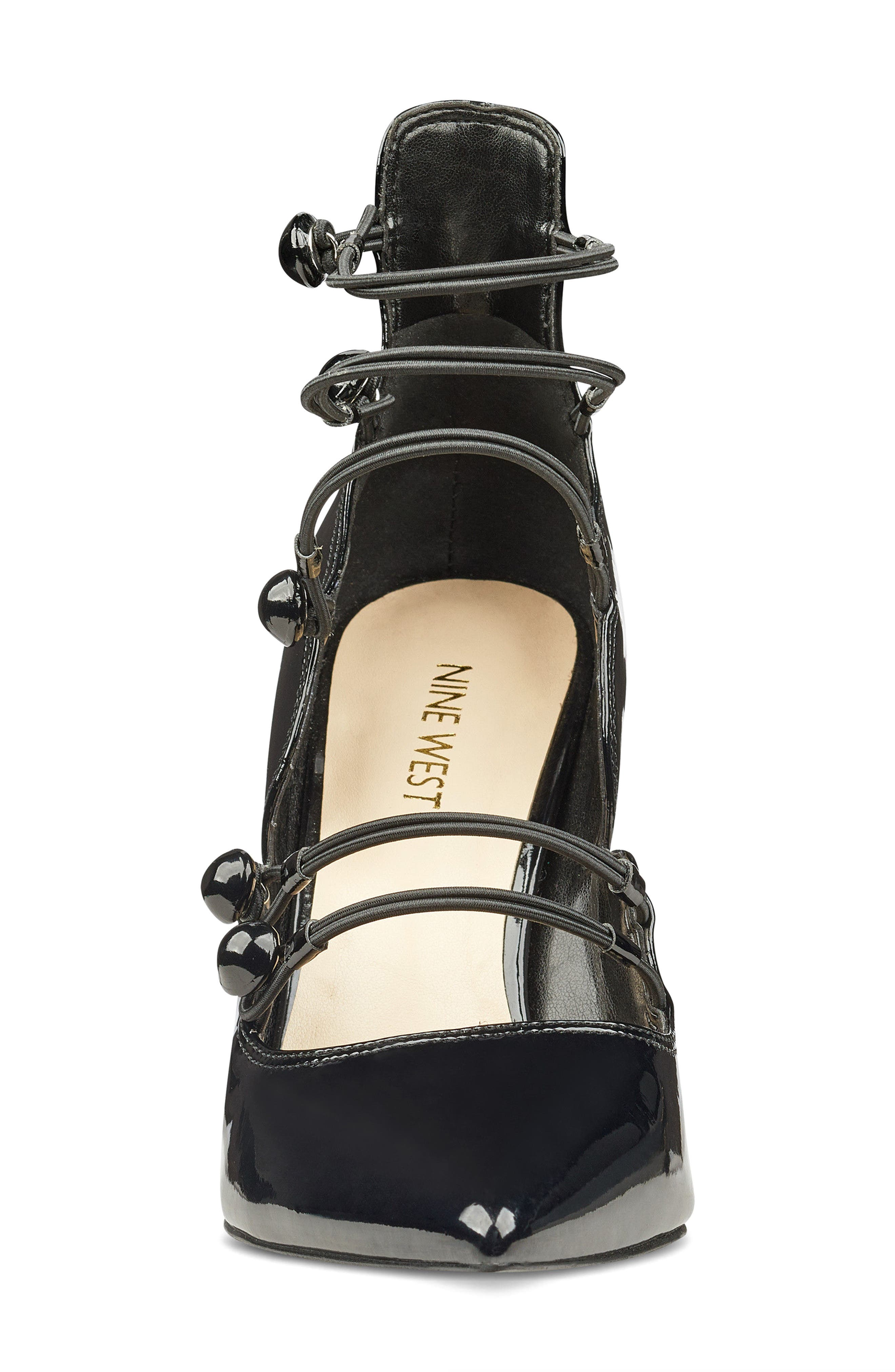 Alternate Image 4  - Nine West Tennyson Strappy Pump (Women)