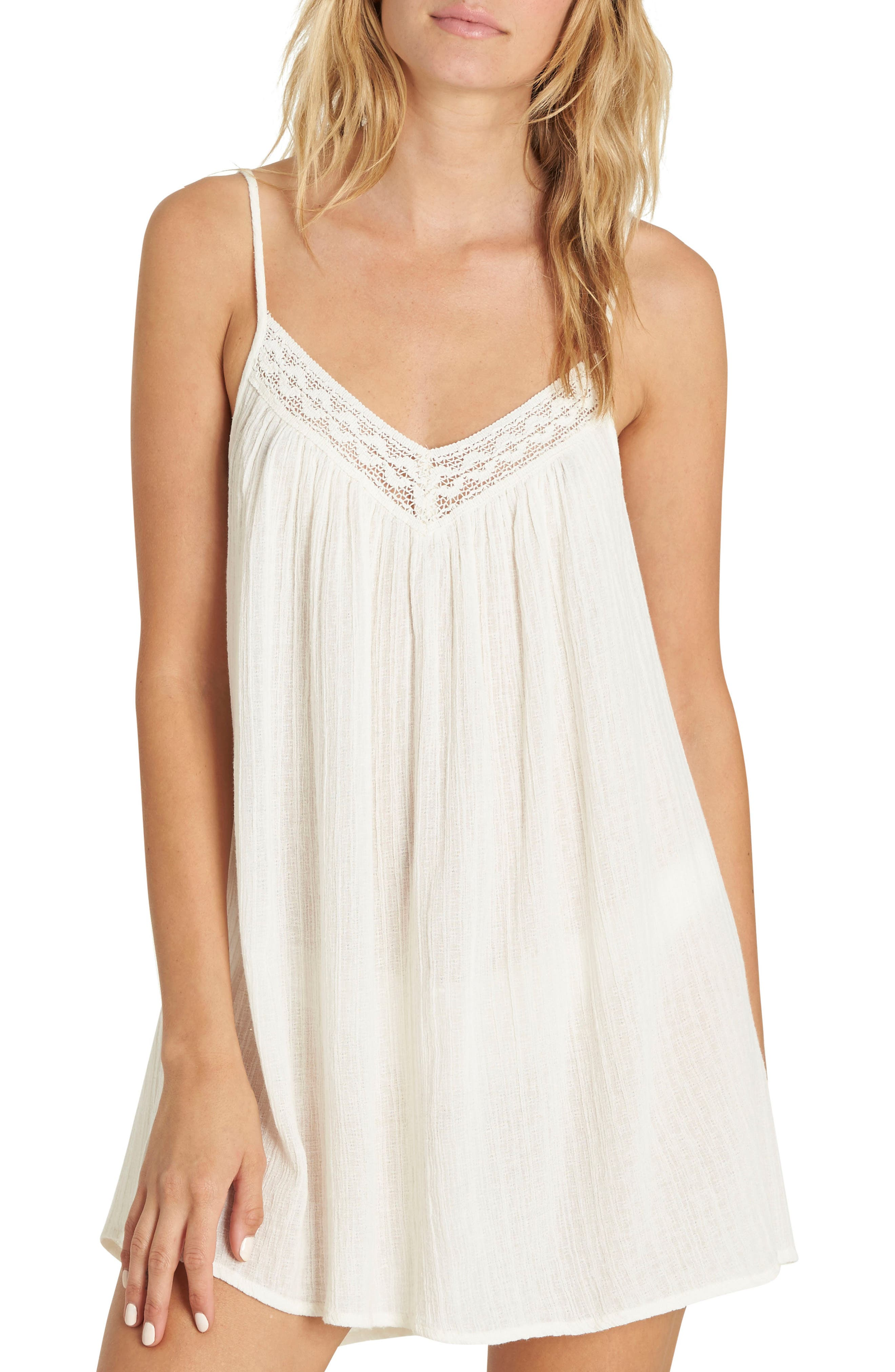 Beach Bound Minidress,                         Main,                         color, White