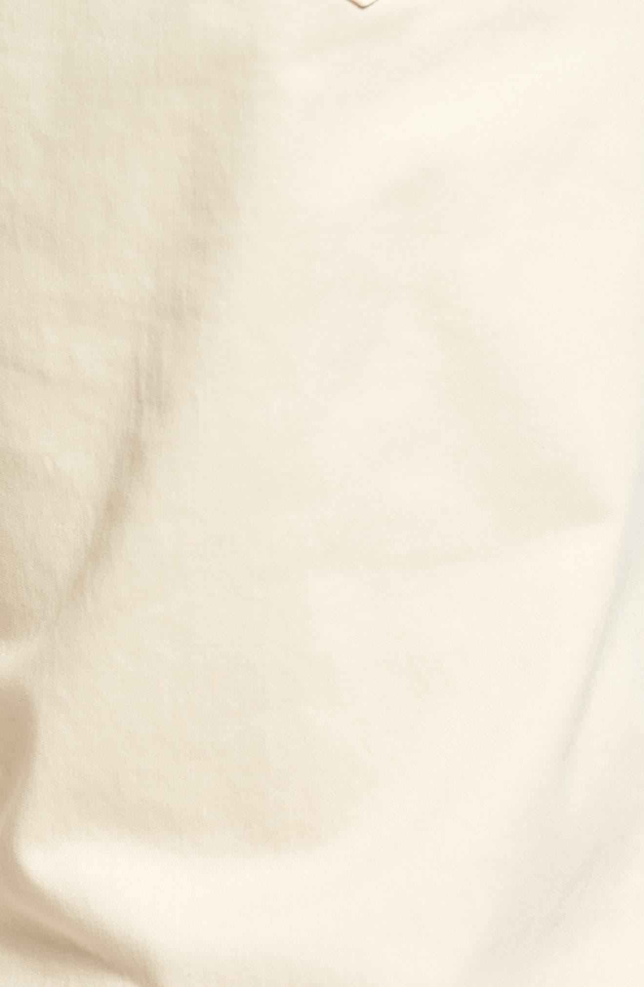 Stretch Sateen Five-Pocket Pants,                             Alternate thumbnail 5, color,                             Light Sand