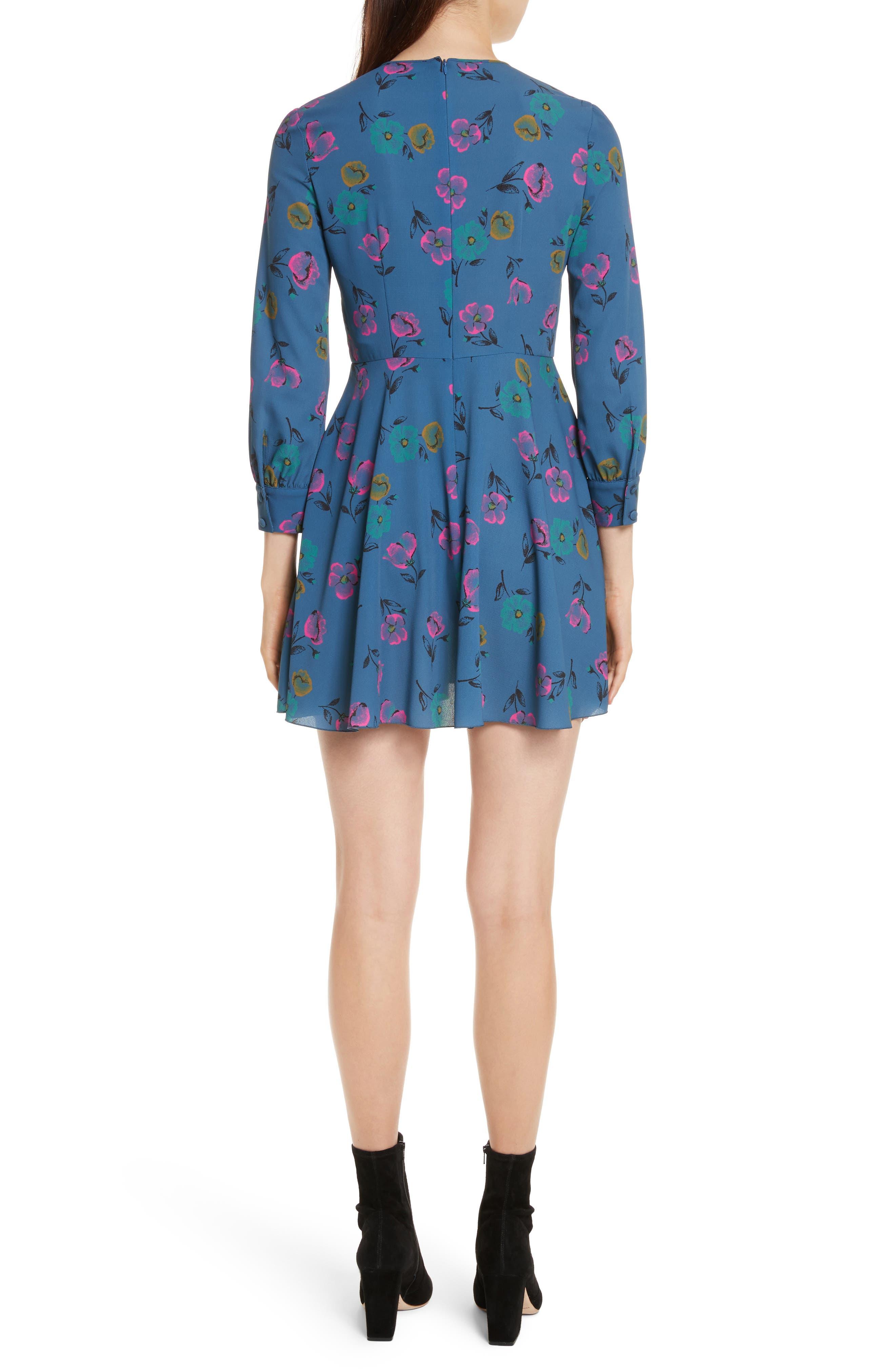 Alternate Image 2  - RED Valentino Anemone Floral Print Crepe Dress
