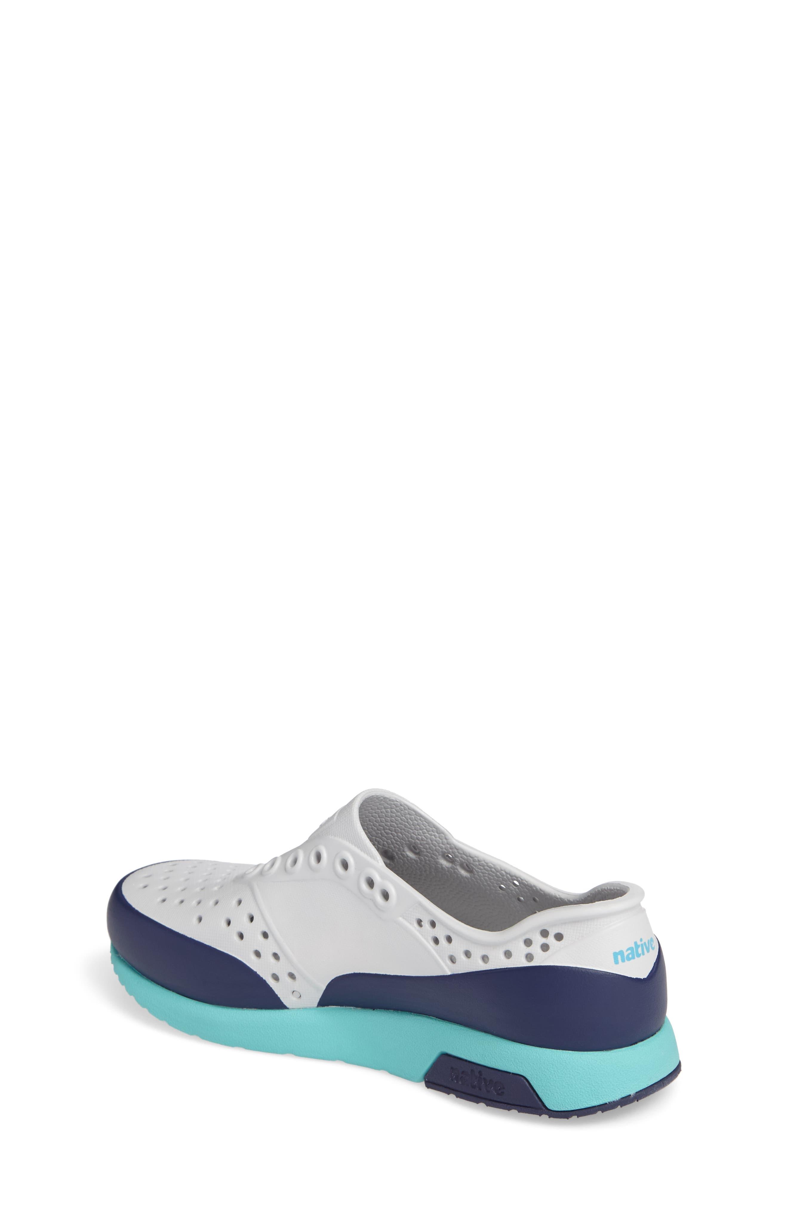 Alternate Image 2  - Native Shoes Lennox Block Slip-On Sneaker (Baby, Walker, Toddler & Little Kid)