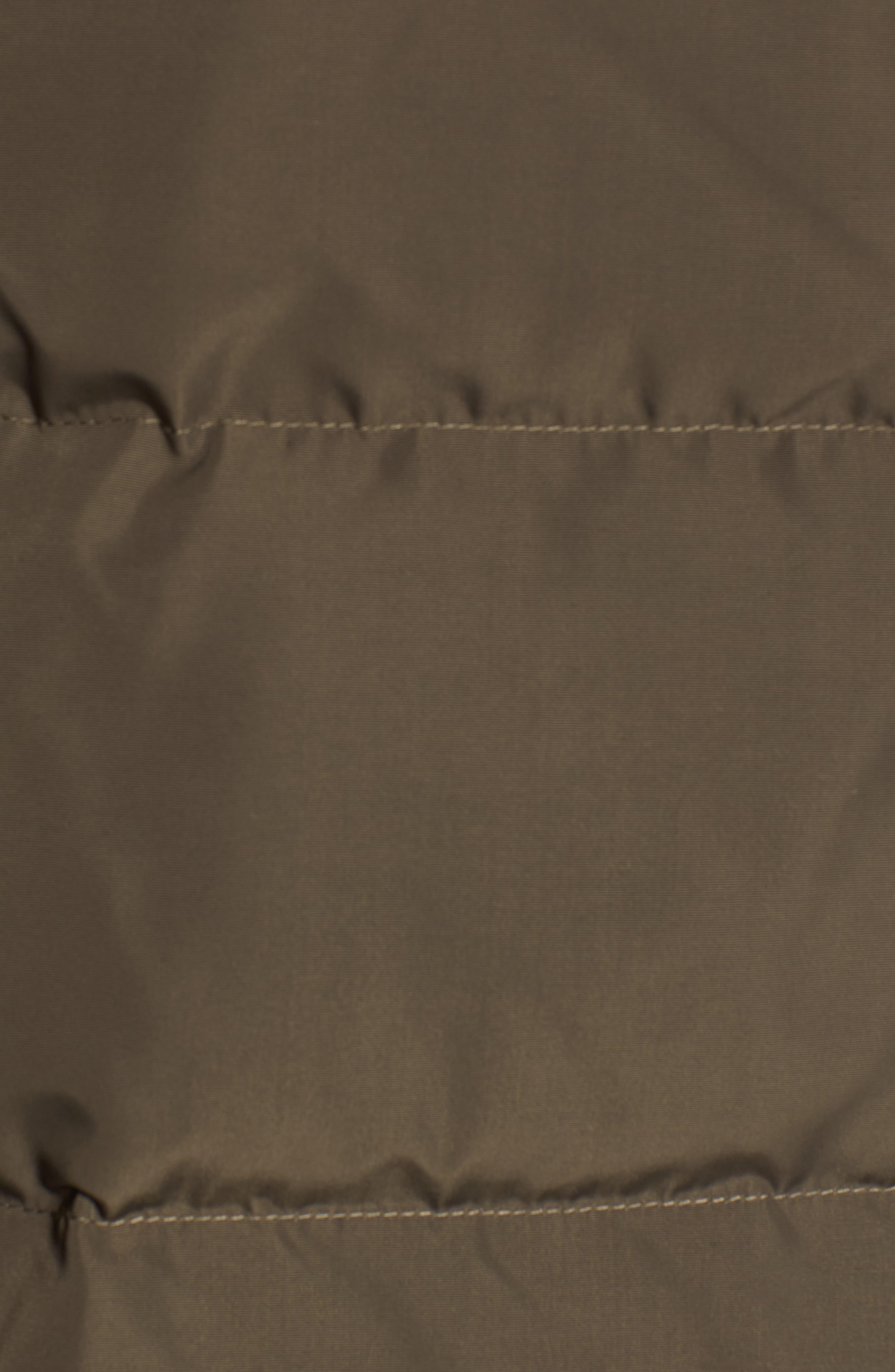 Alternate Image 6  - Derek Lam 10 Crosby Vest with Genuine Fox Fur
