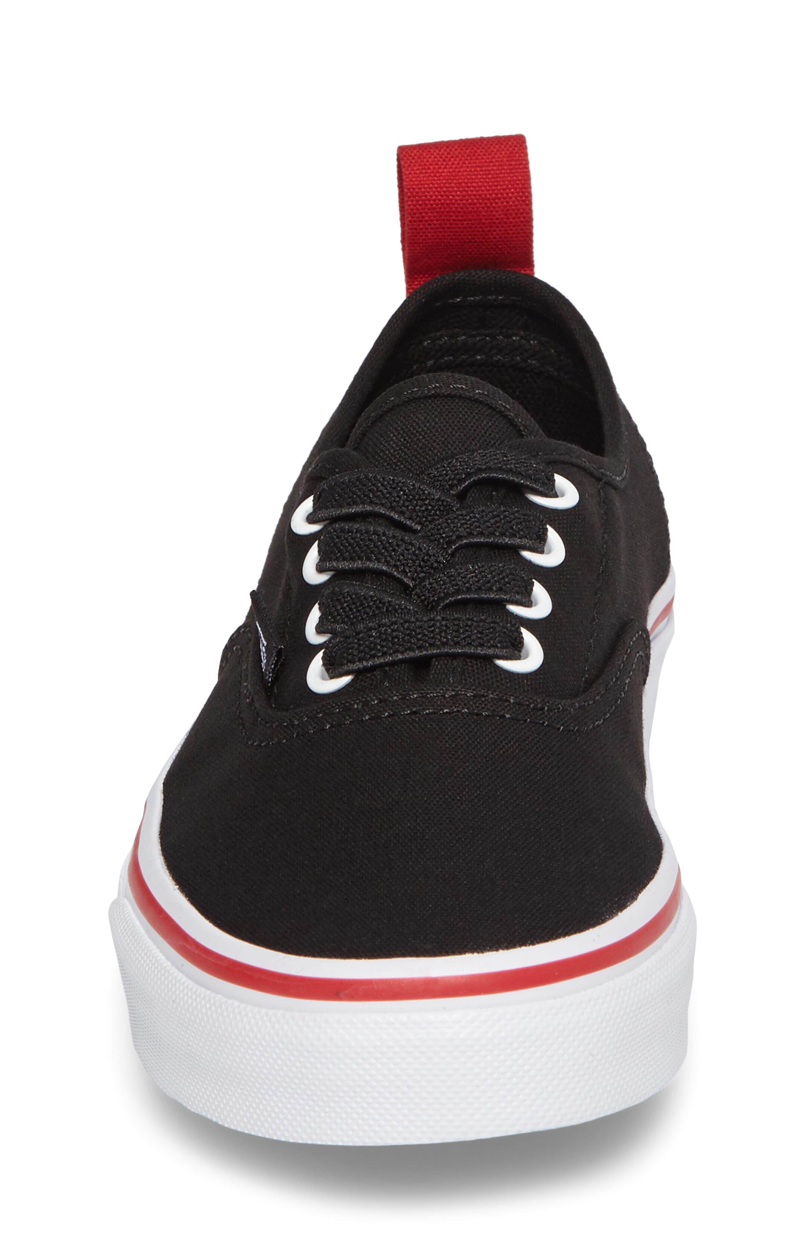Alternate Image 4  - Vans Authentic Elastic Lace Sneaker (Baby, Walker, Toddler, Little Kid & Big Kid)
