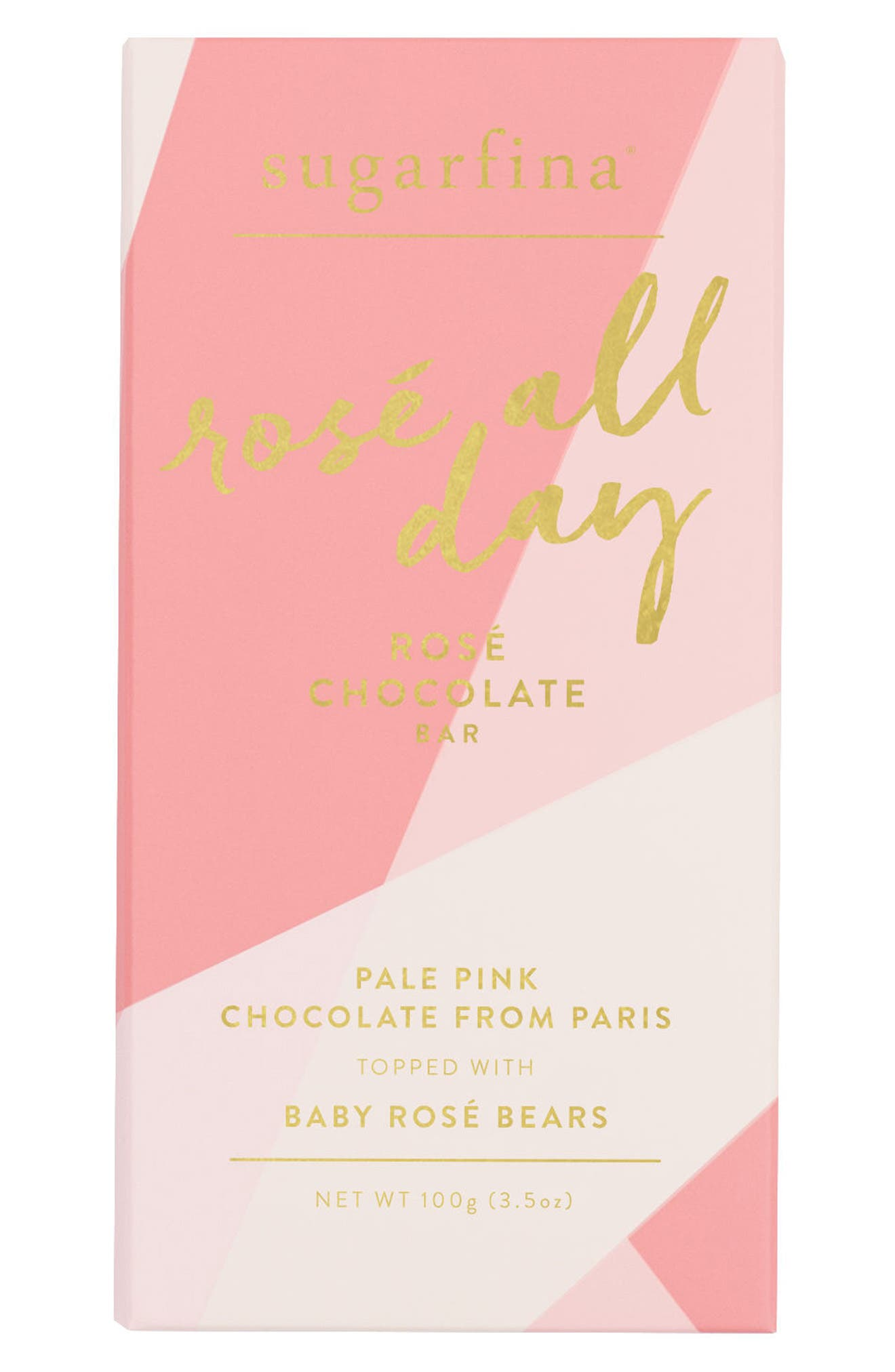 Alternate Image 1 Selected - sugarfina 2-Pack White Chocolate Rosé Bar