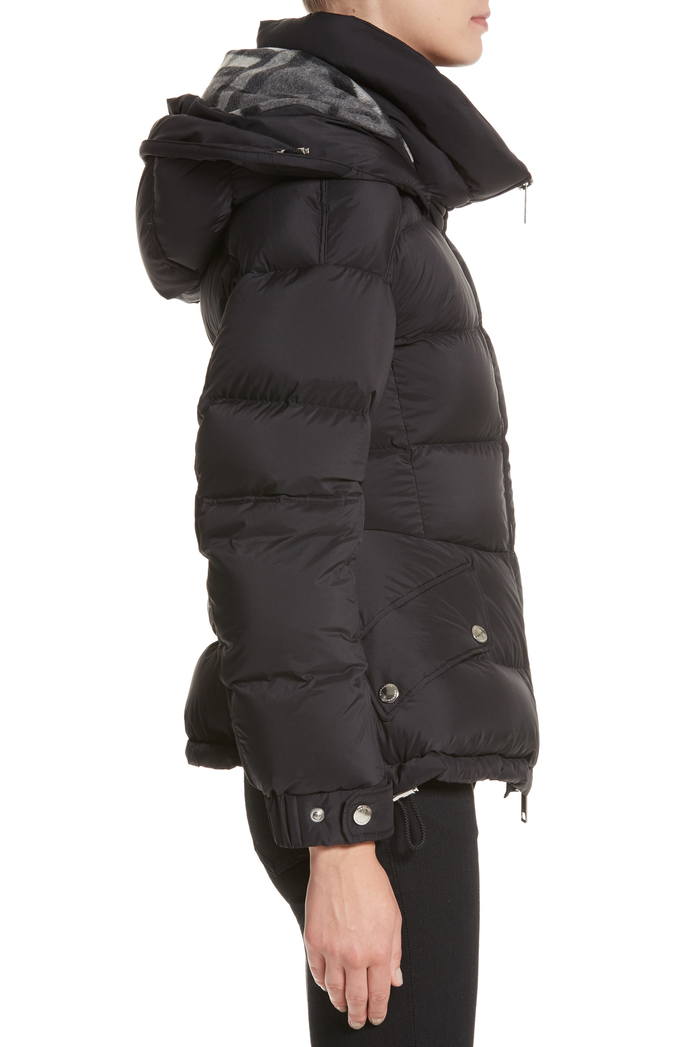 Alternate Image 3  - Burberry Fleetwood Hooded Down Puffer Jacket