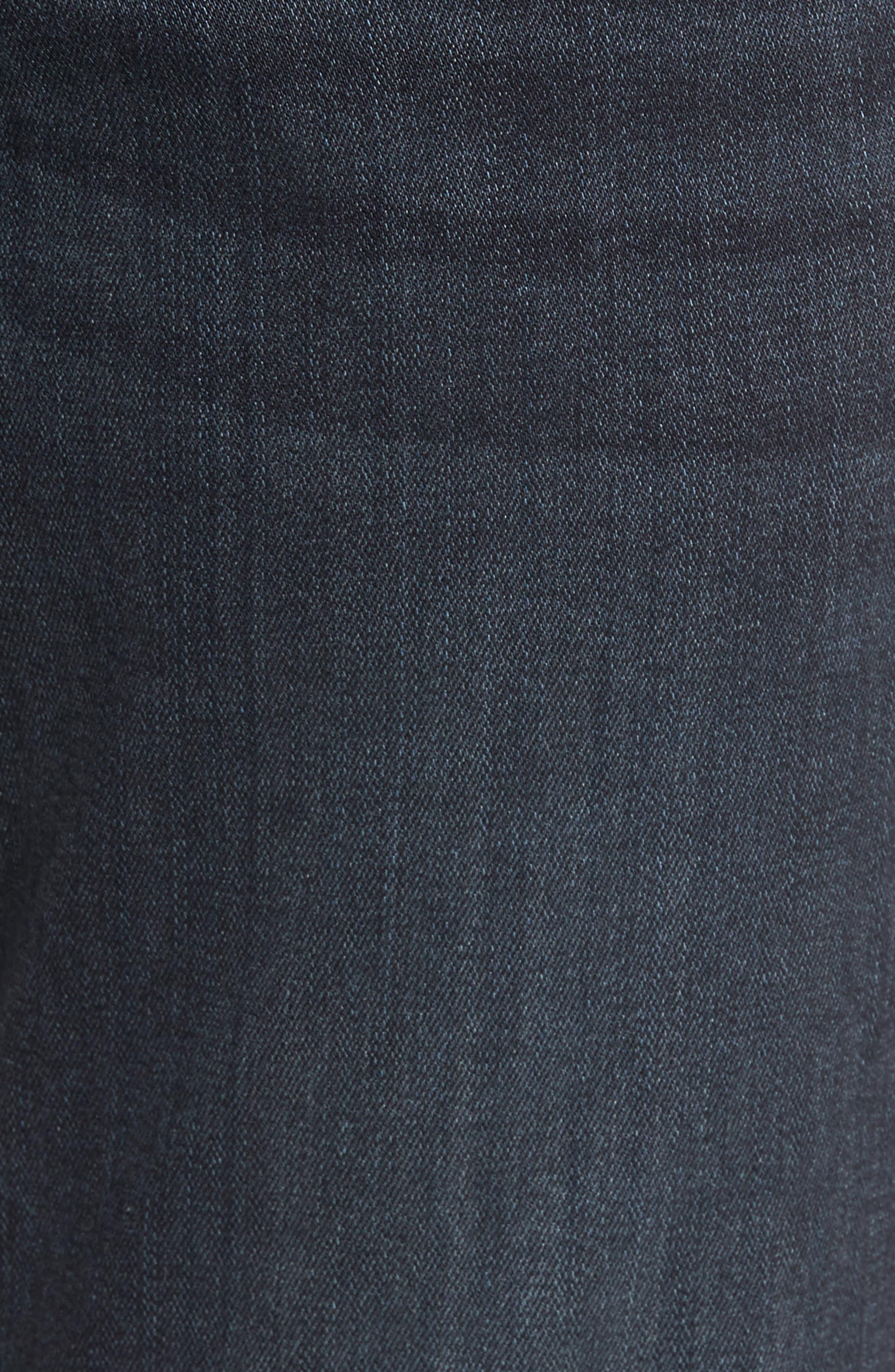 Straight Leg Jeans,                             Alternate thumbnail 5, color,                             Dark Grey
