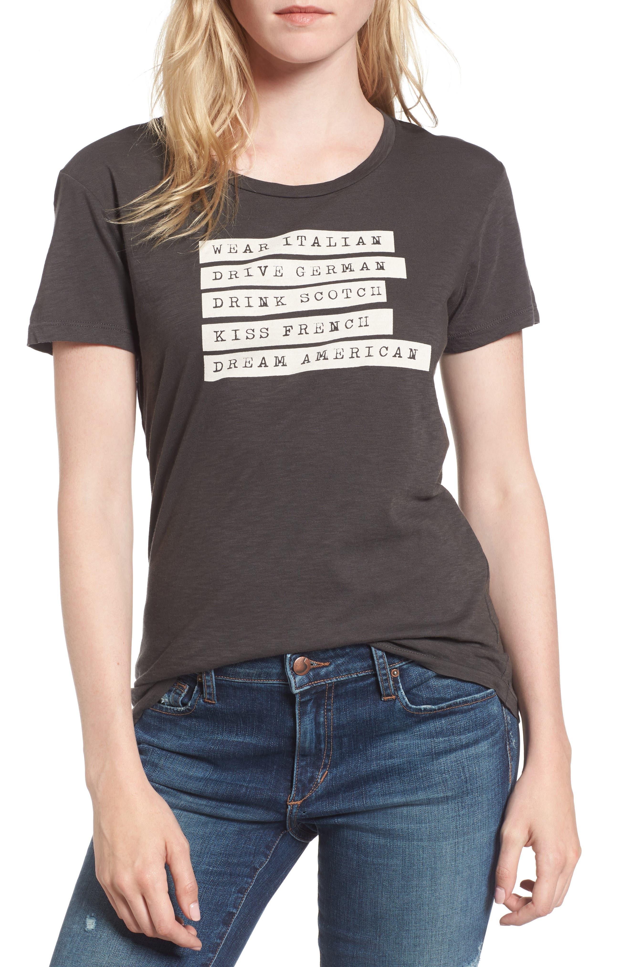 SUNDRY Dream American T-Shirt