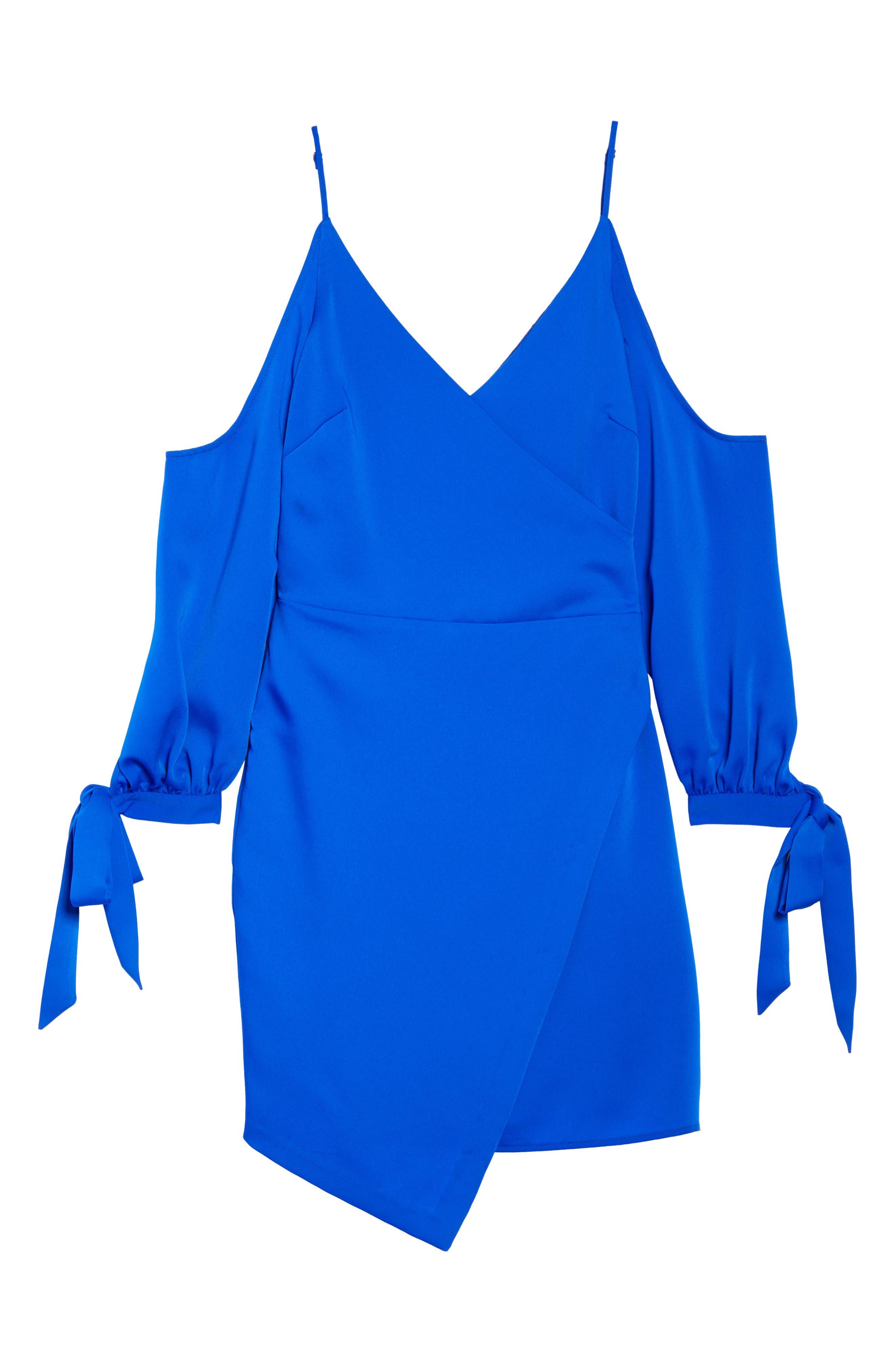 Alternate Image 6  - Adelyn Rae Amelia Cold Shoulder Sheath Dress