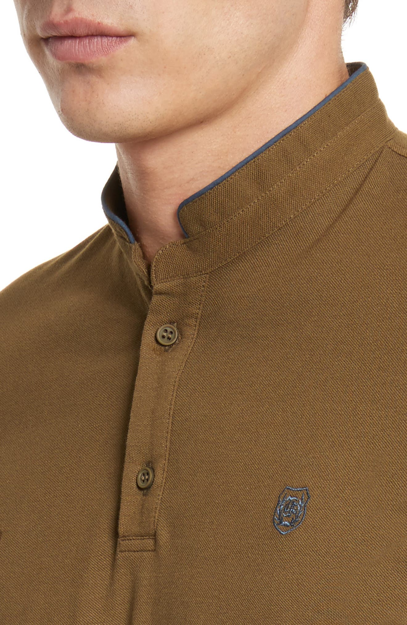 Alternate Image 4  - The Kooples SPORT Contrast Officer Collar Polo