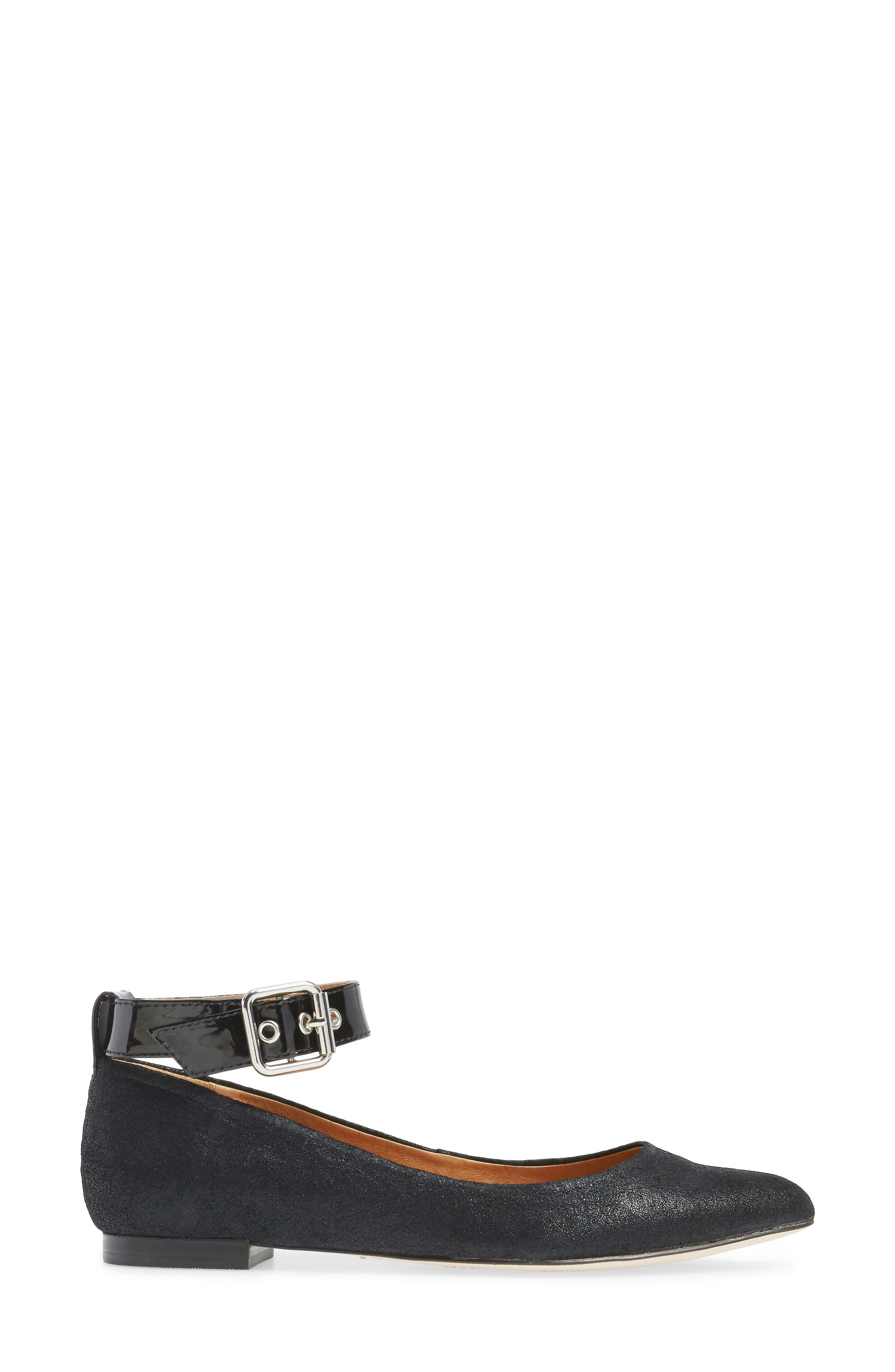 Alternate Image 3  - Corso Como Ramona Ankle Strap Flat (Women)