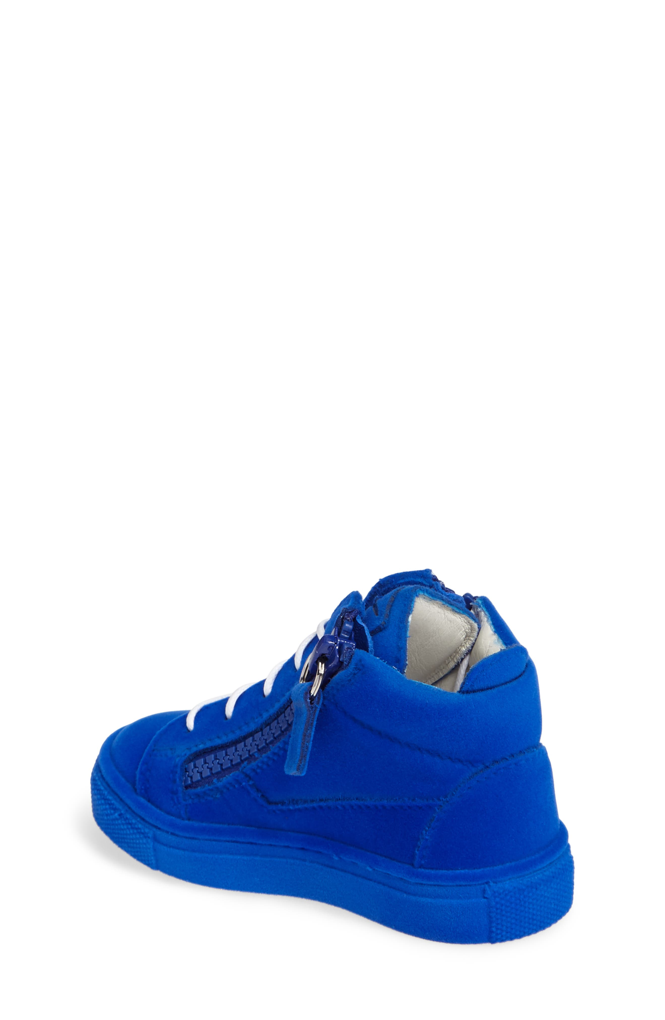 Alternate Image 2  - Giuseppe Zanotti Smuggy Sneaker (Baby, Walker, Toddler & Little Kid)