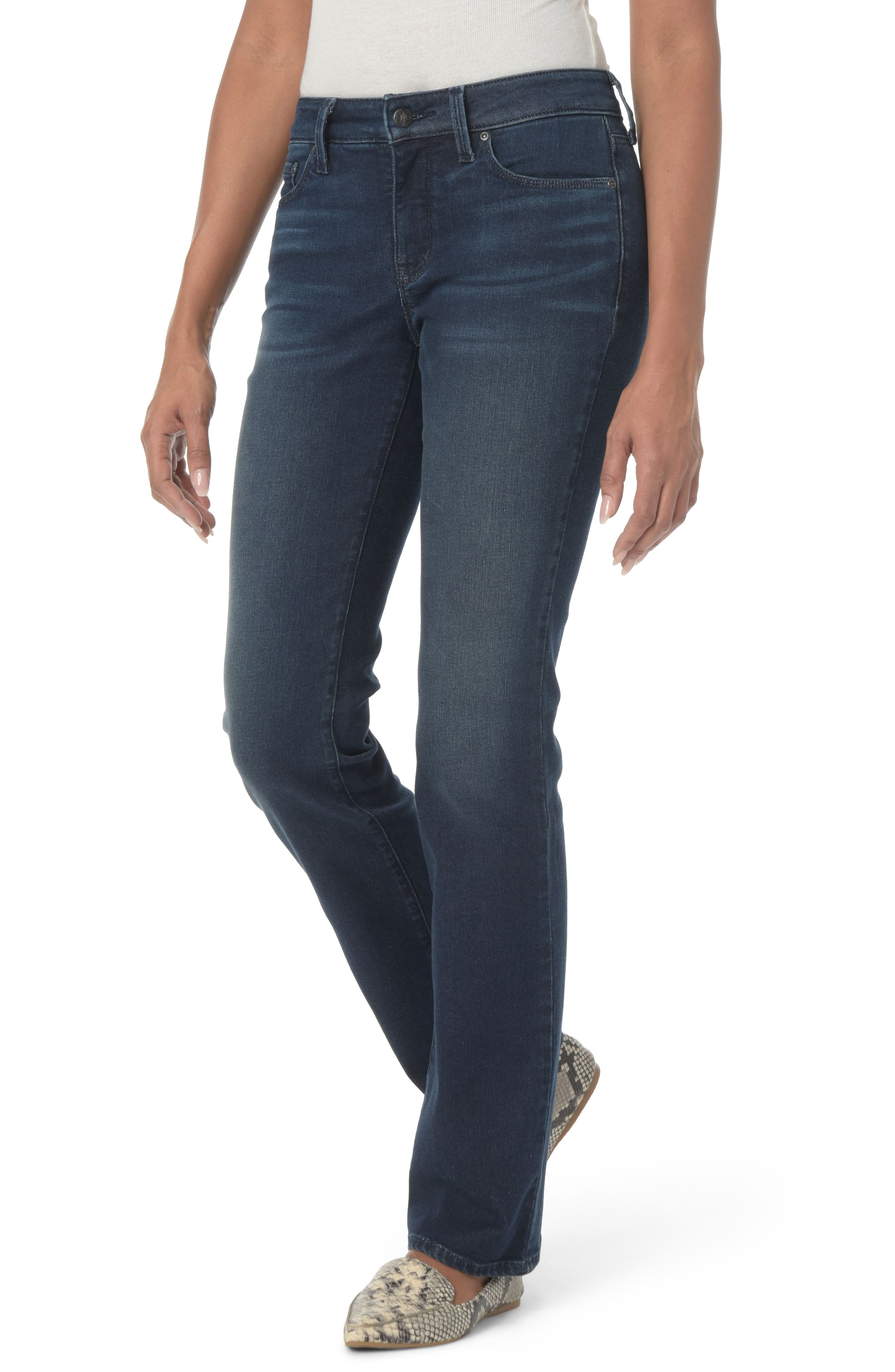 Marilyn Stretch Straight Leg Jeans,                         Main,                         color, Morgan
