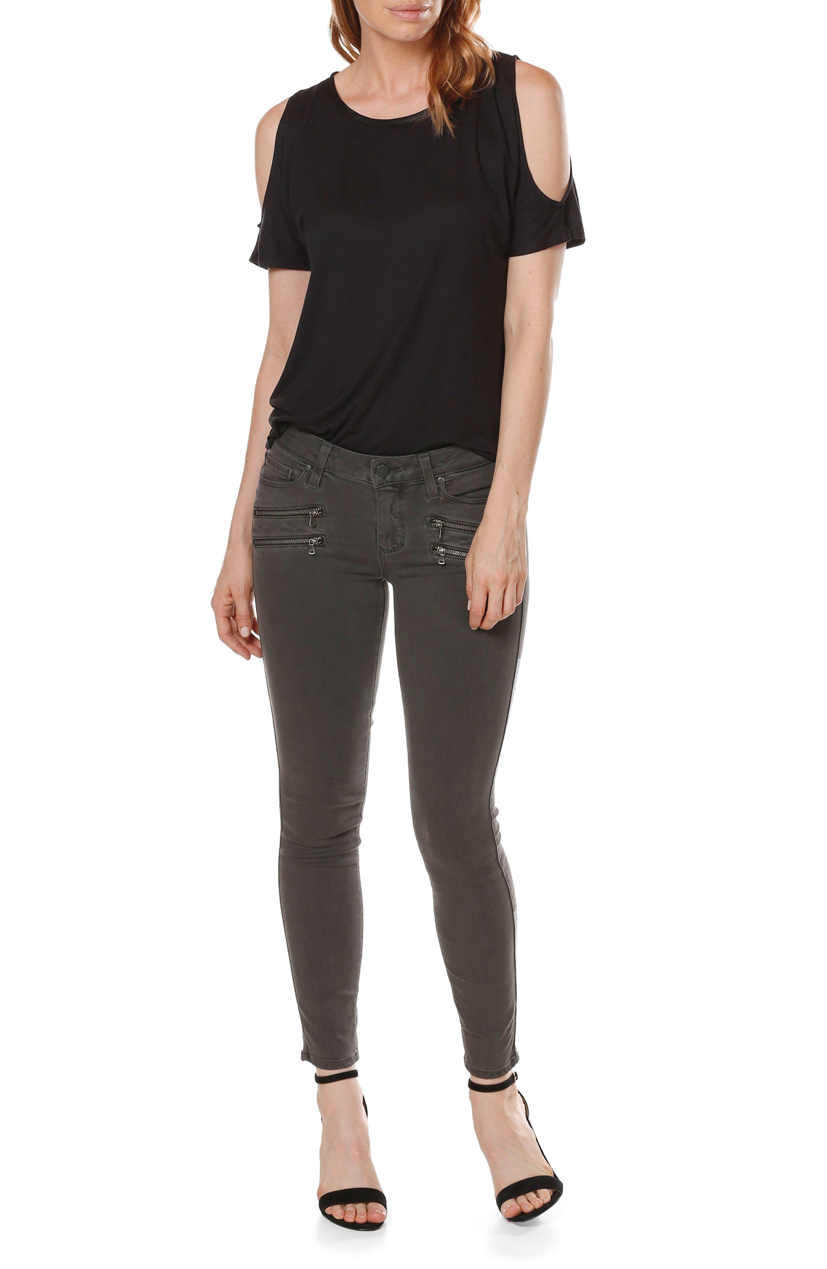 PAIGE Transcend - Edgemont Ankle Ultra Skinny Jeans