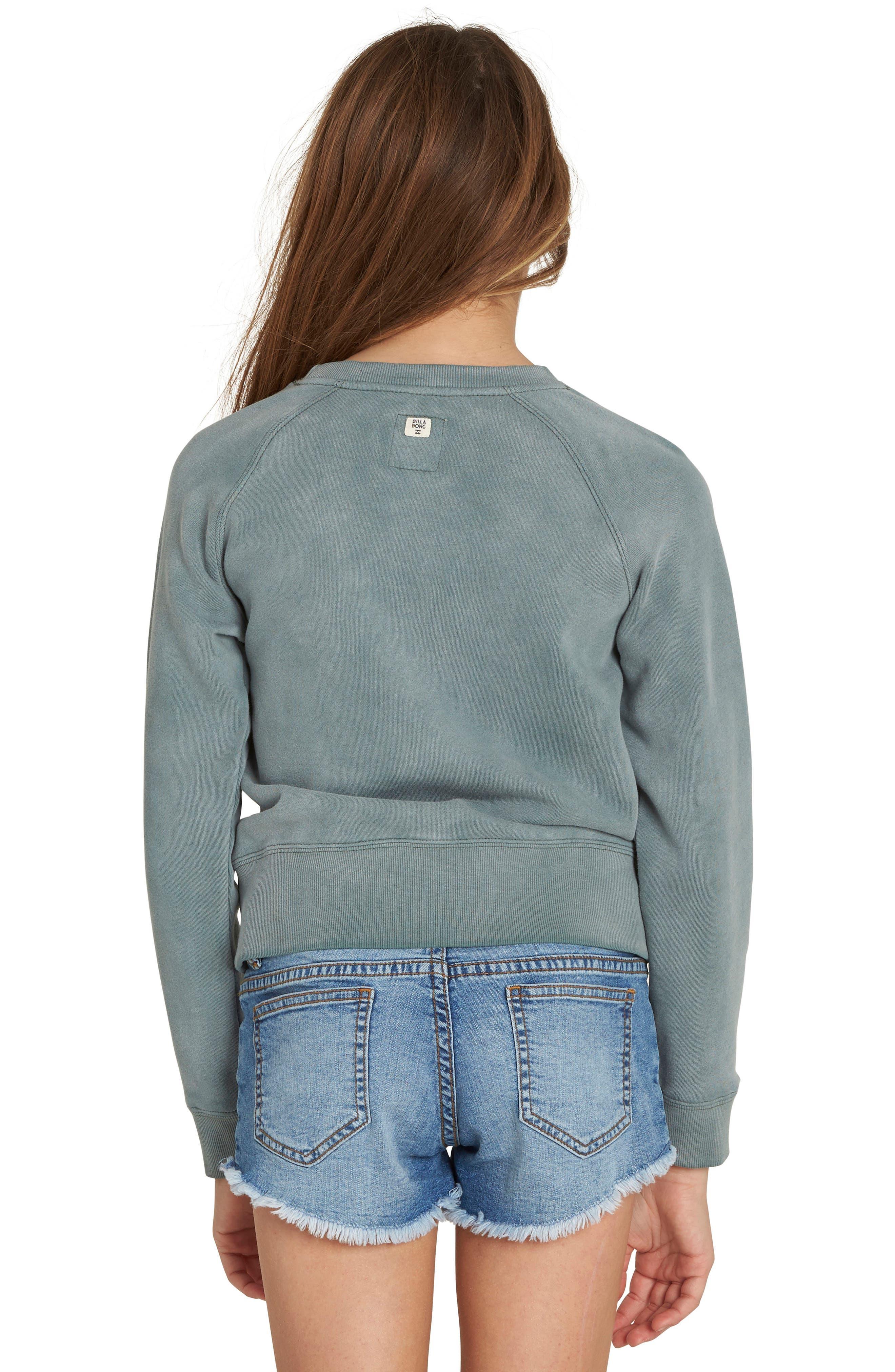Whole Heart Graphic Sweatshirt,                             Alternate thumbnail 2, color,                             Sugar Pine