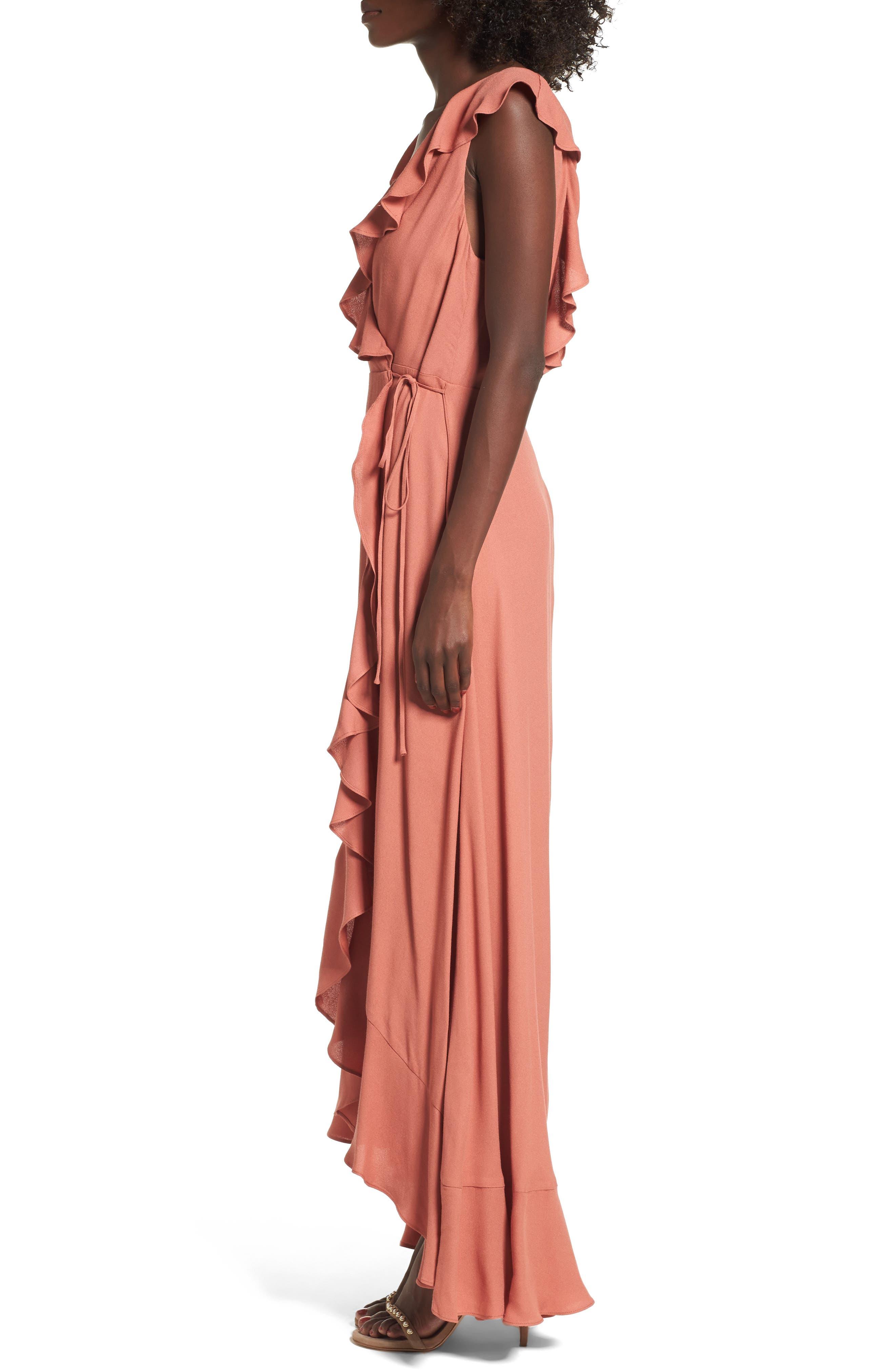 Alternate Image 3  - AFRM Wade Wrap Maxi Dress