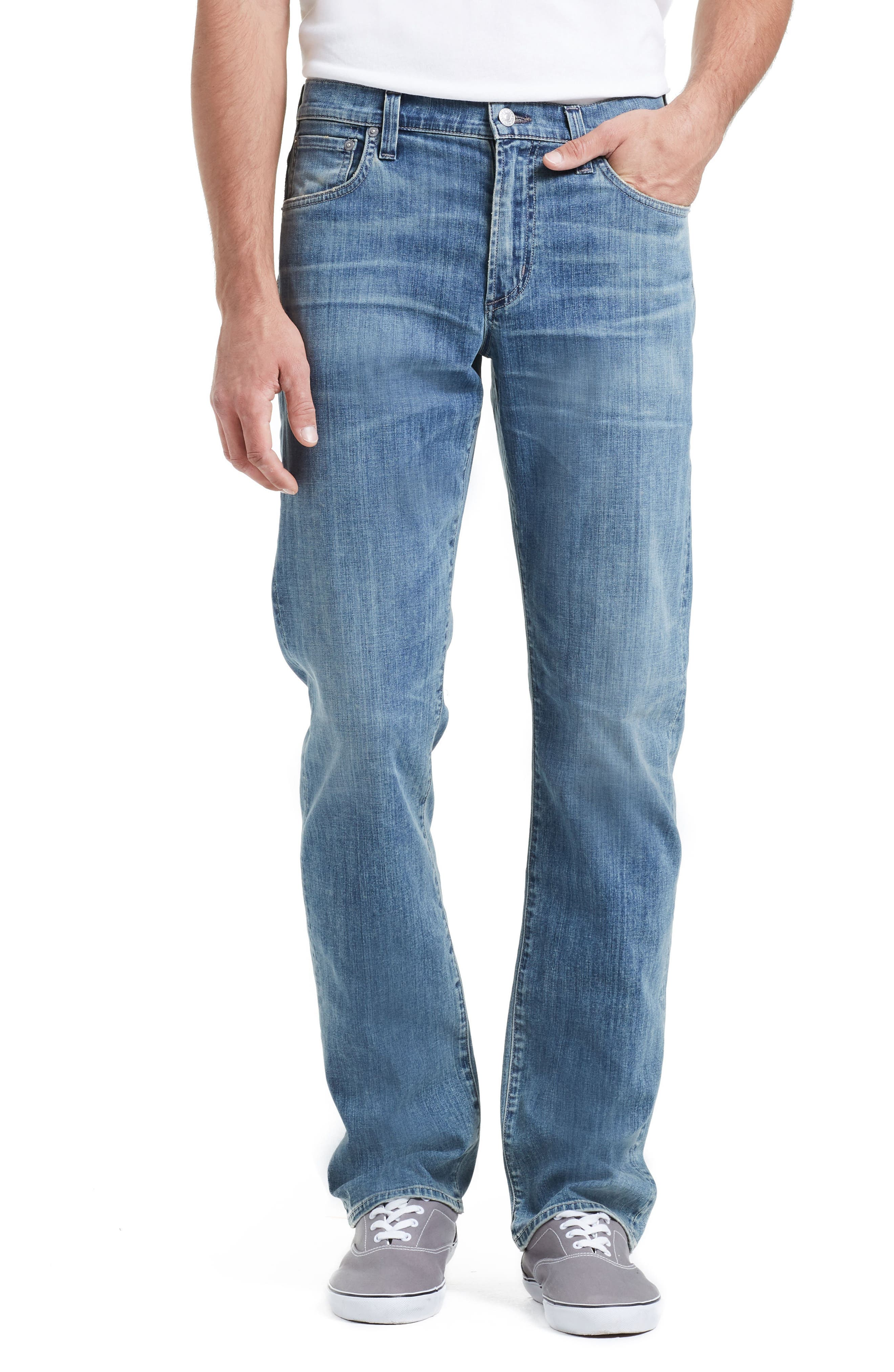 Alternate Image 1 Selected - Citizens of Humanity Sid Straight Leg Jeans (Costa)